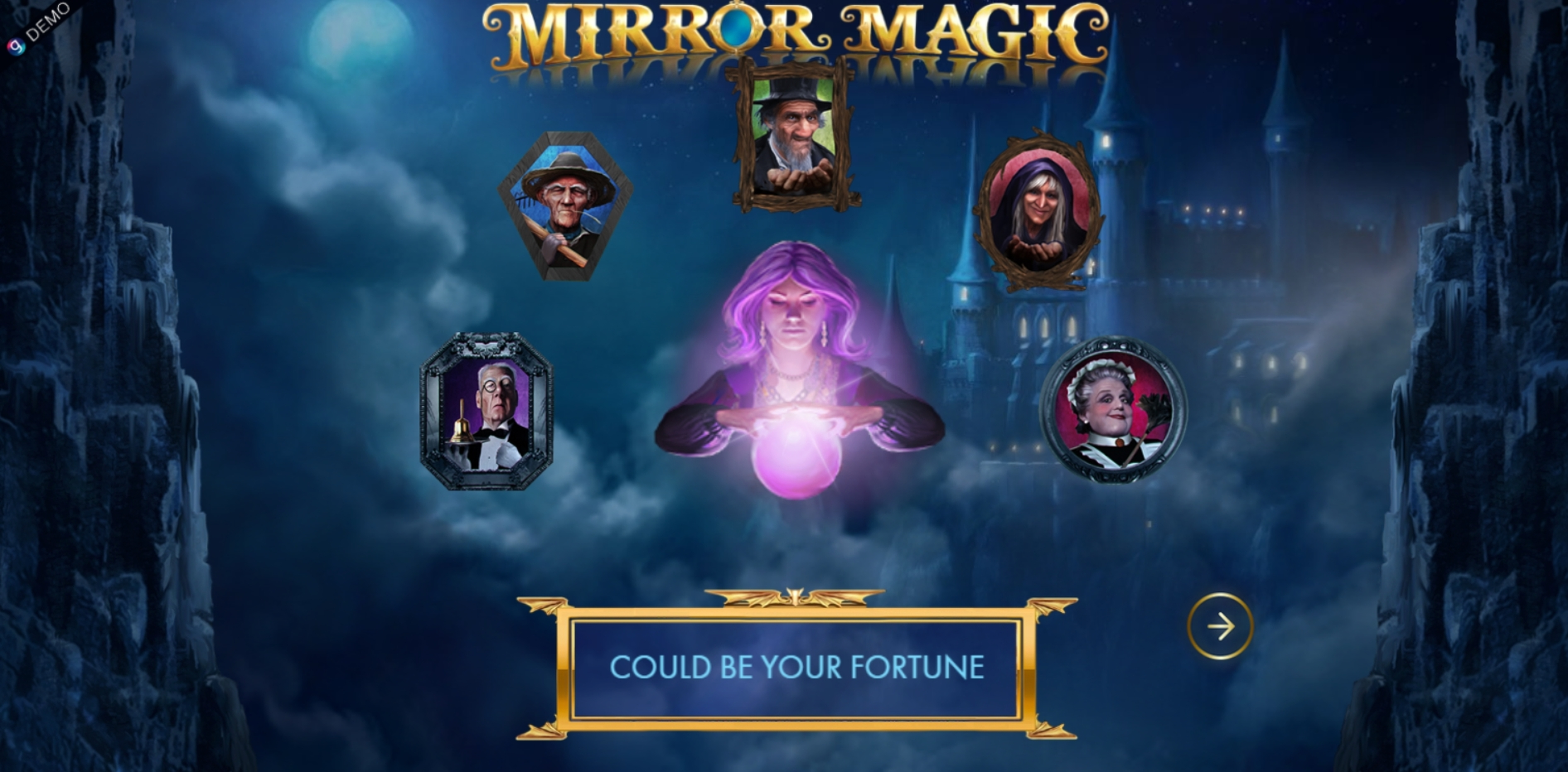 Play Mirror Magic Free Casino Slot Game by Genesis