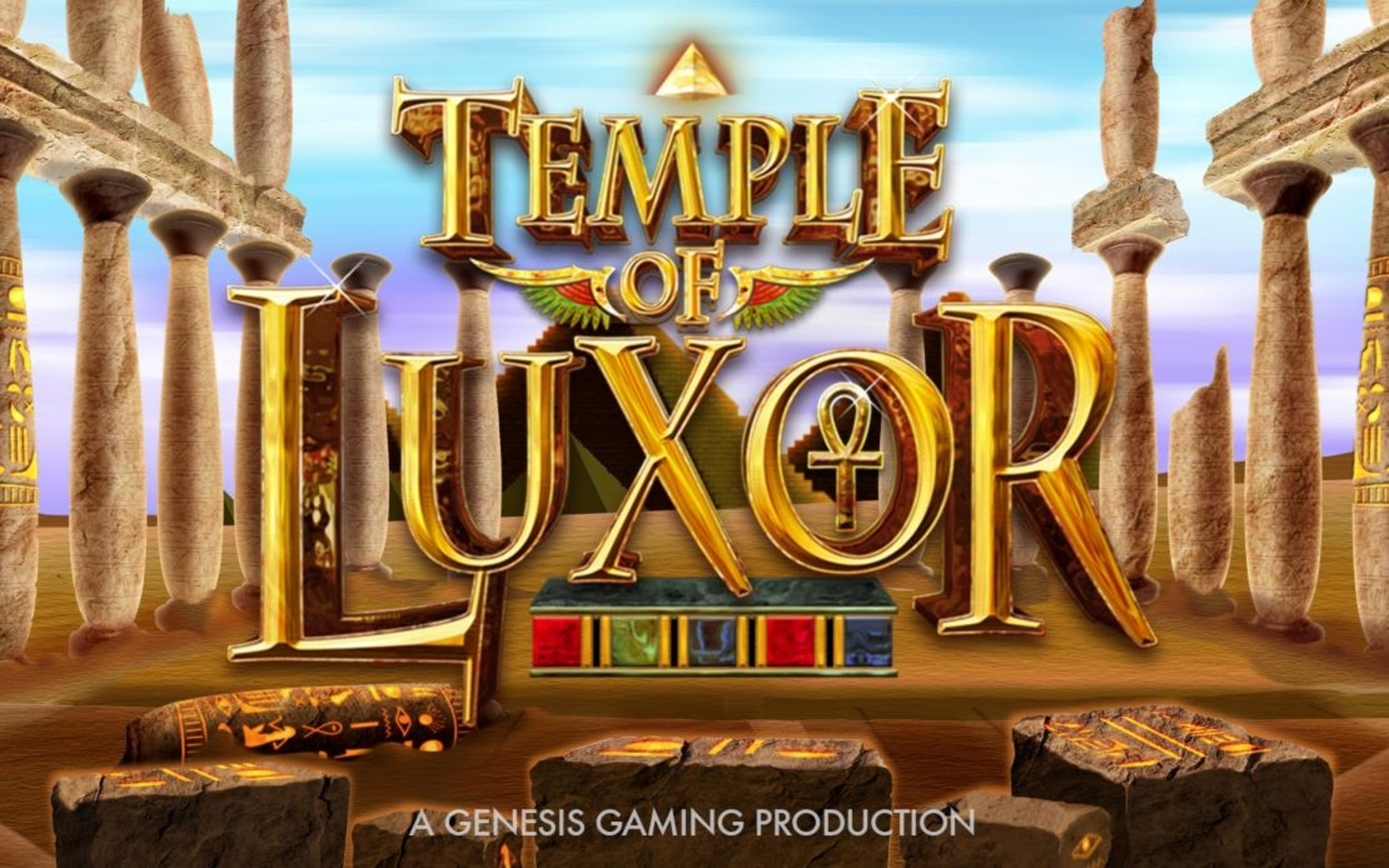 The Temple of Luxor Online Slot Demo Game by Genesis