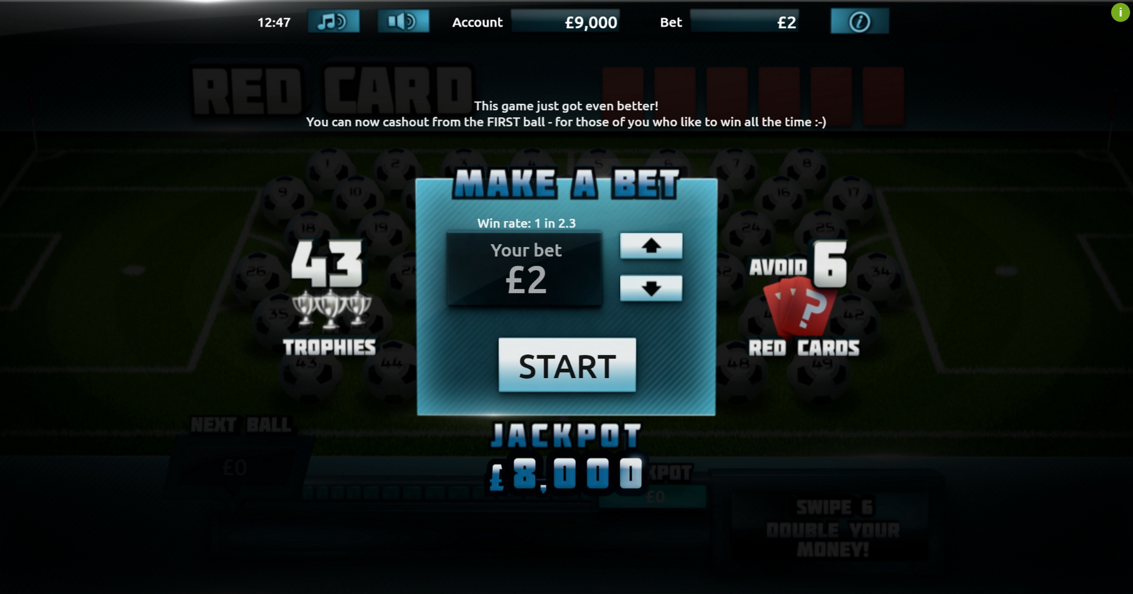Play Red Card Free Casino Slot Game by Gluck Games