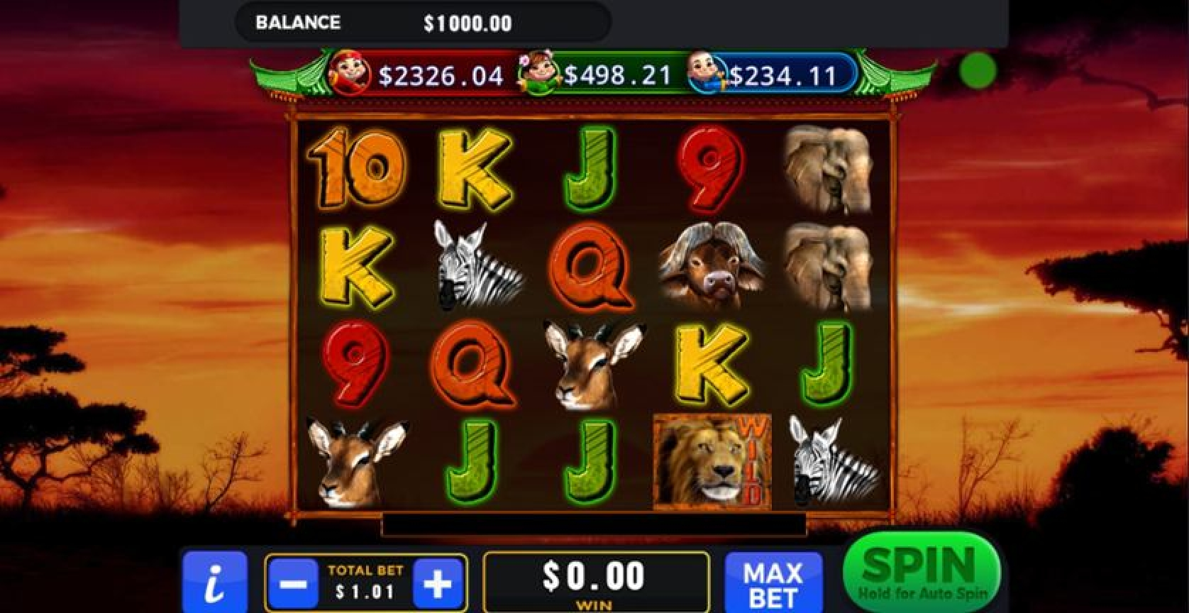 The 101 Lions Online Slot Demo Game by GMW