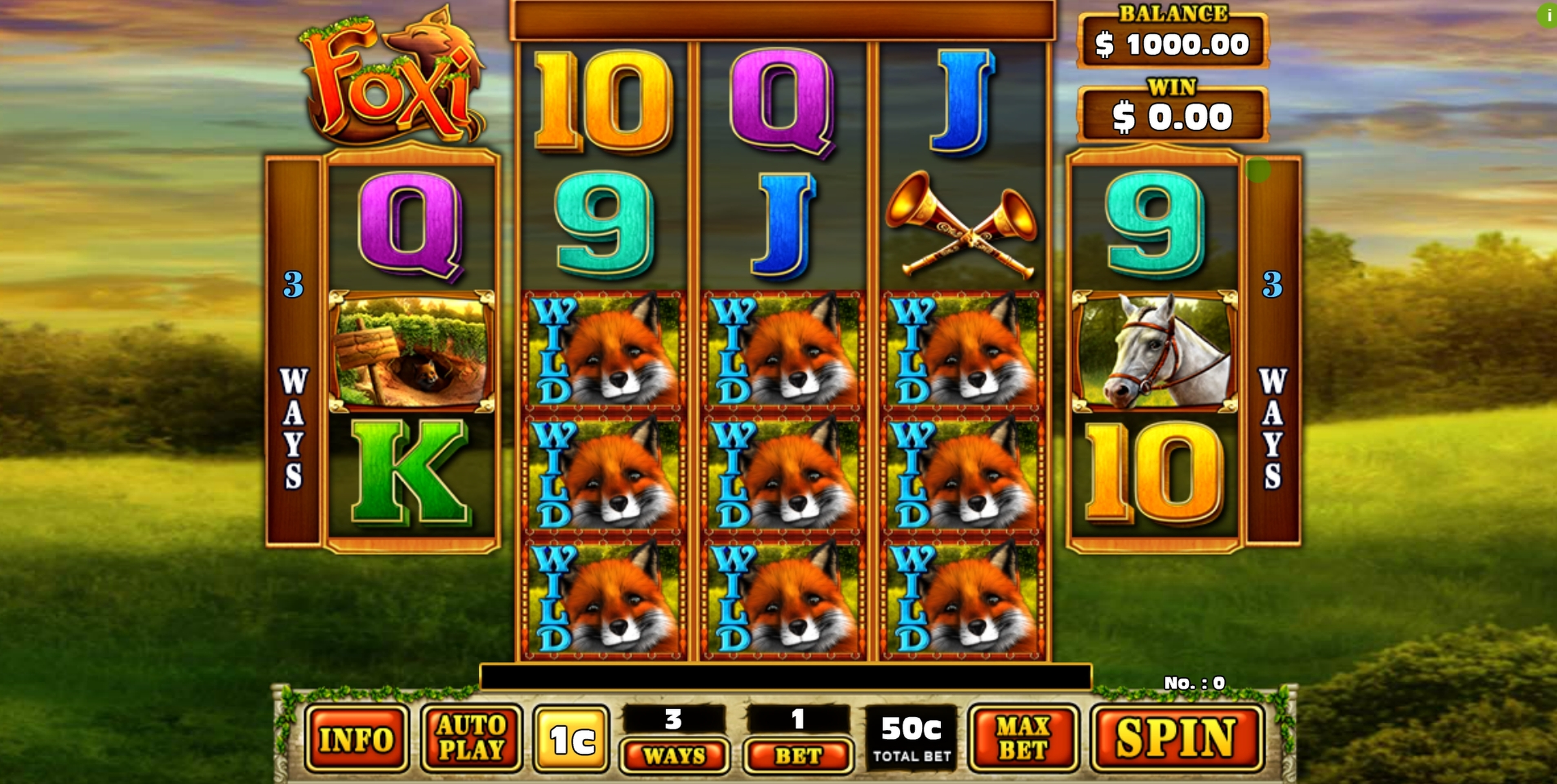 Reels in Foxi (GMW) Slot Game by GMW
