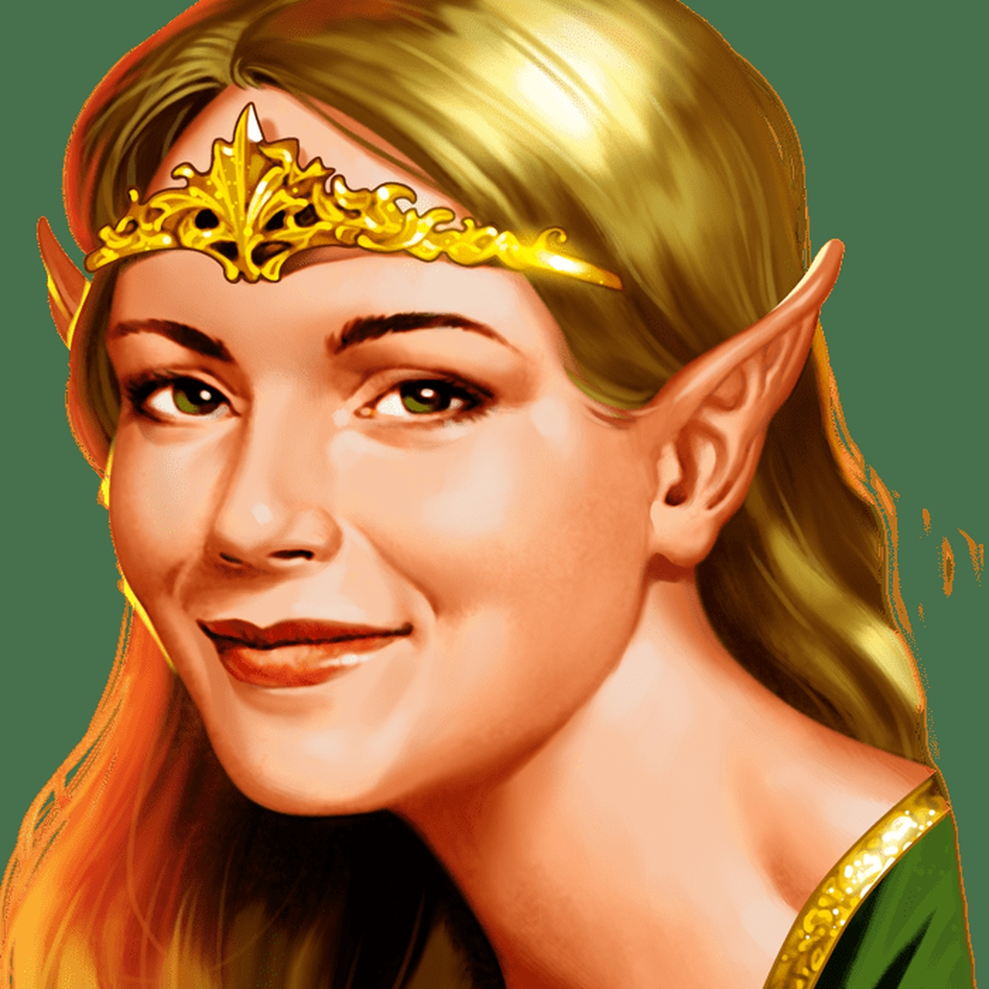 The Elven Princess Online Slot Demo Game by Greentube
