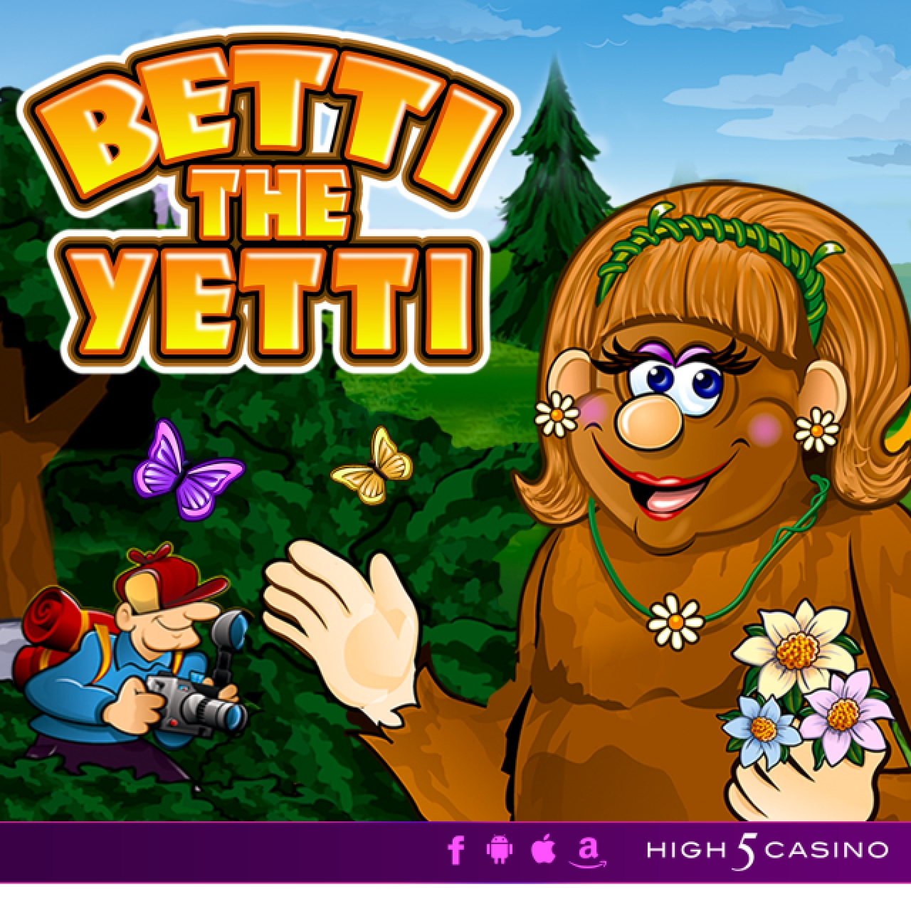 The Betti the Yetti Online Slot Demo Game by High 5 Games