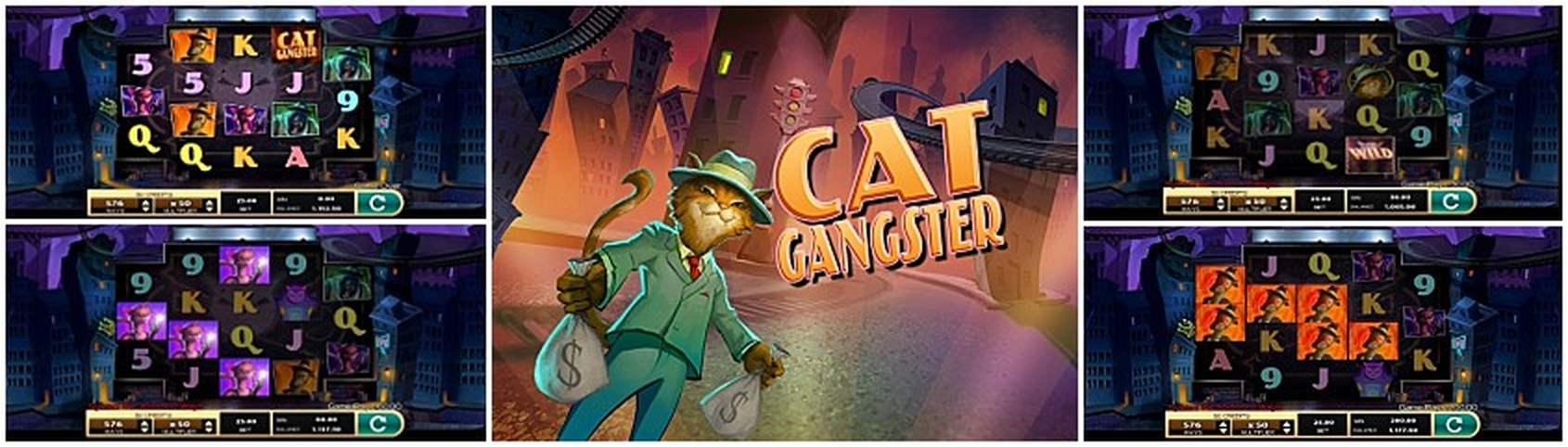 The Cat Gangster Online Slot Demo Game by High 5 Games