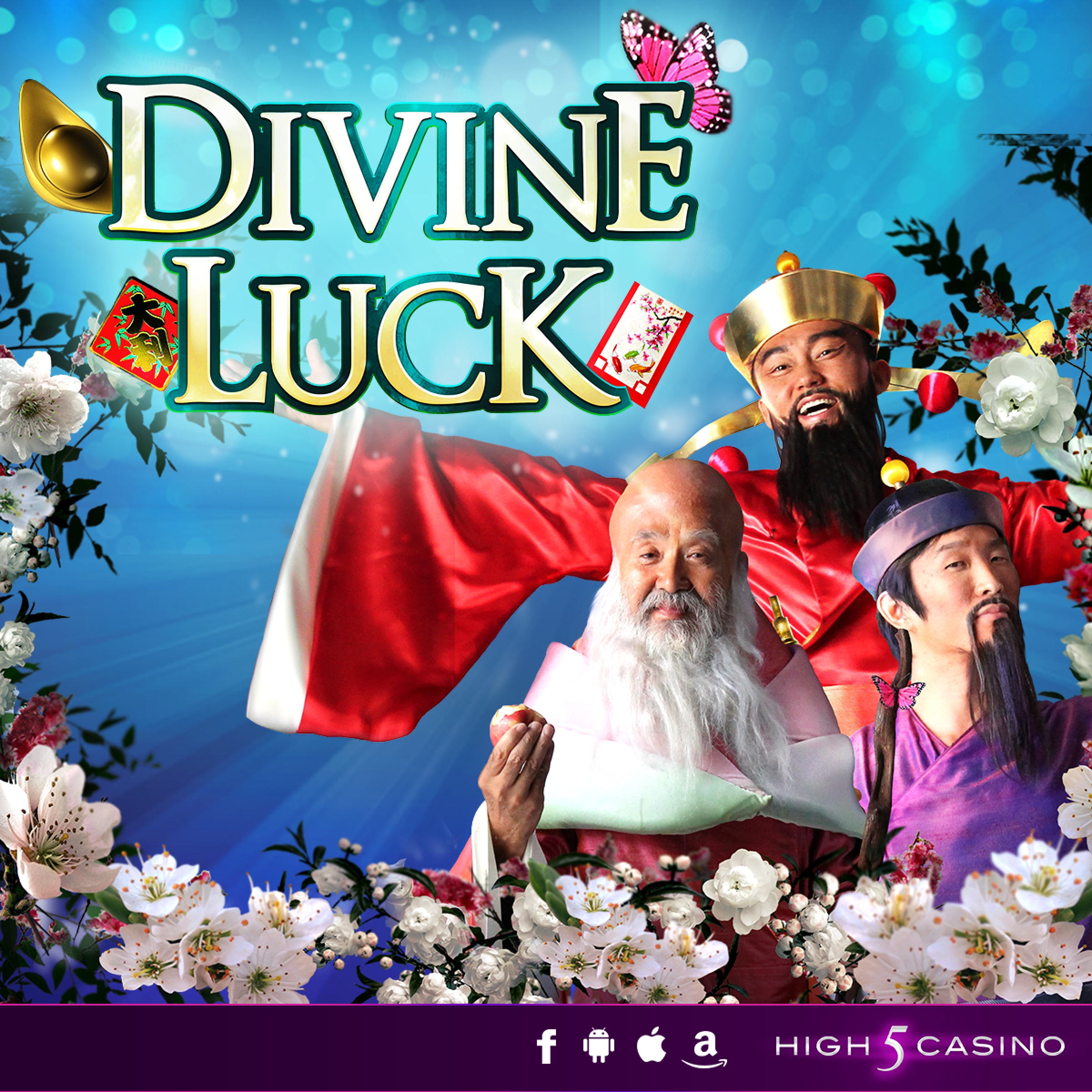 The Divine Luck Online Slot Demo Game by High 5 Games