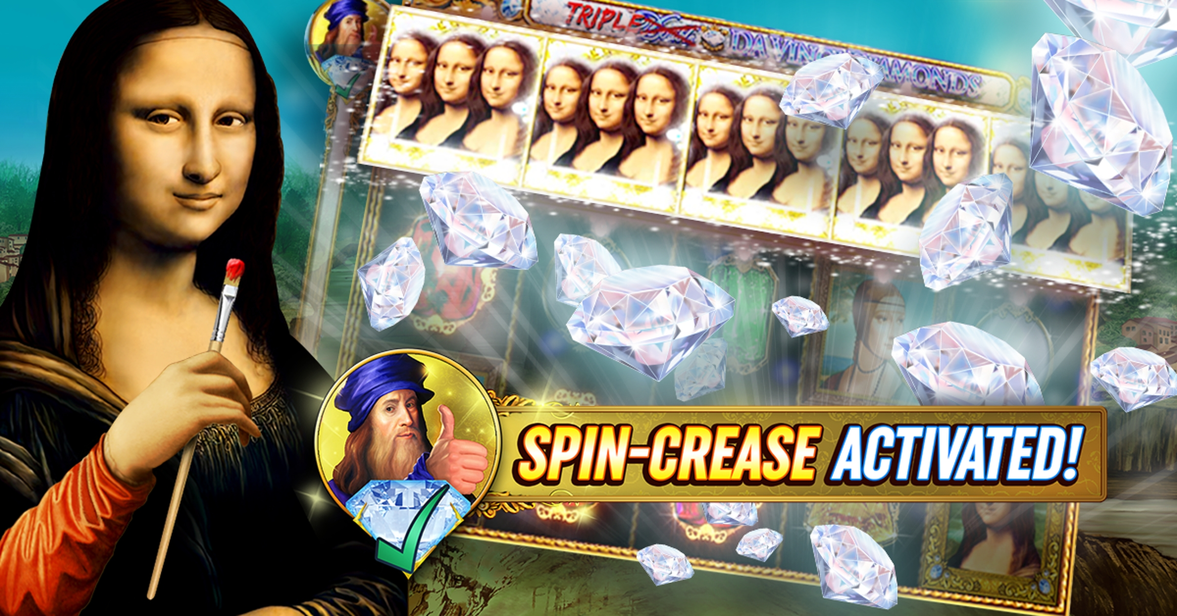 The Double Da Vinci Diamonds Online Slot Demo Game by High 5 Games