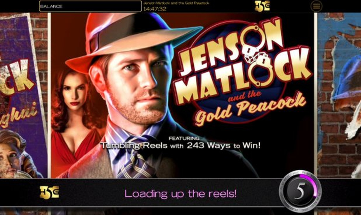 The Jenson Matlock and the Gold Peacock Online Slot Demo Game by High 5 Games