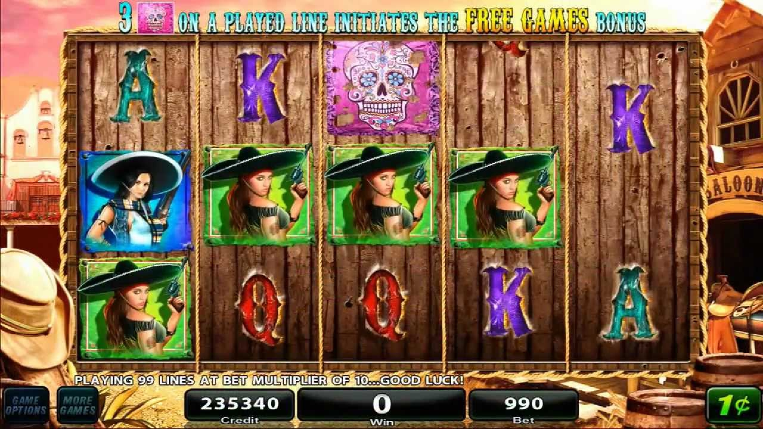 The The Lovely Outlaws Online Slot Demo Game by High 5 Games