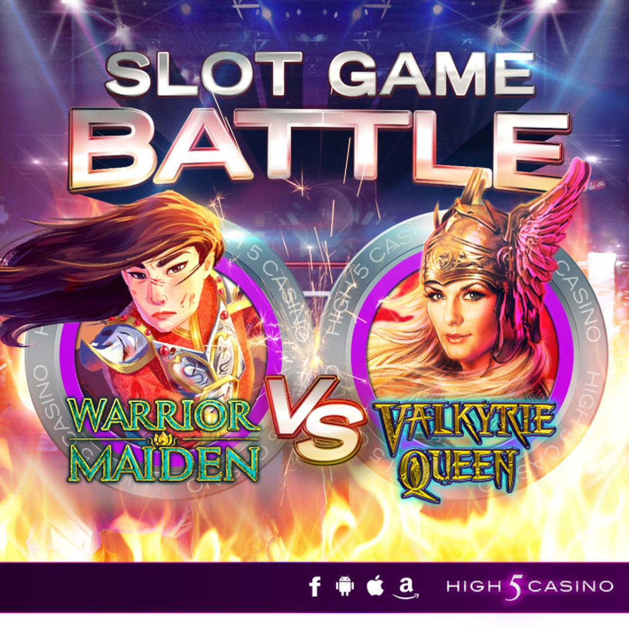 The Warrior Maiden Online Slot Demo Game by High 5 Games
