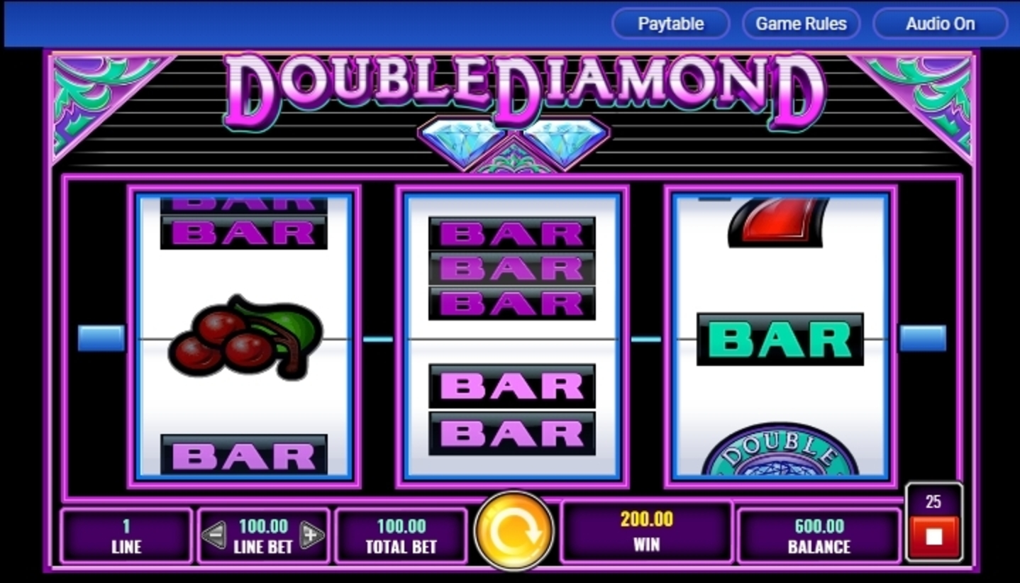 Win Money in Double Diamond Free Slot Game by IGT