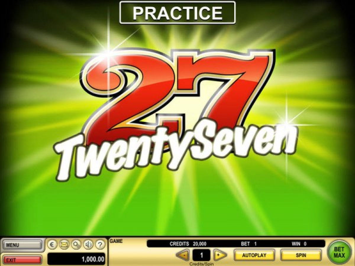 The Twenty Seven Online Slot Demo Game by IGT
