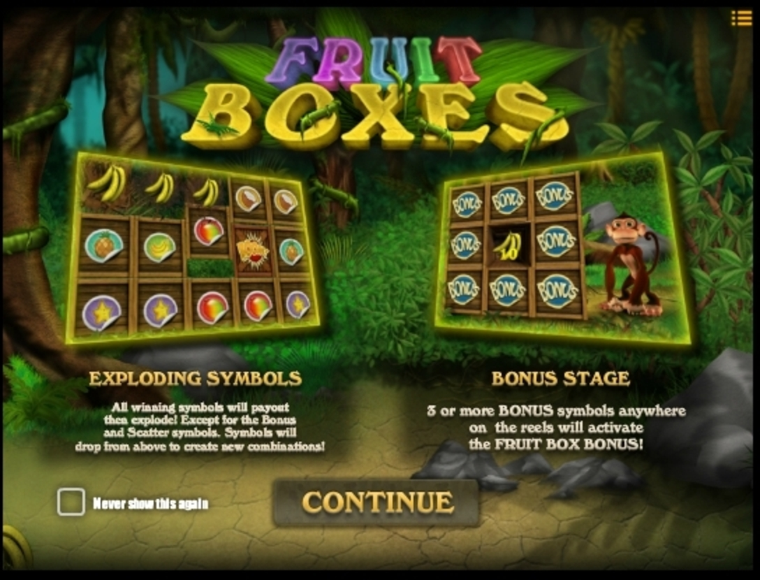 Play Fruit Boxes Free Casino Slot Game by iSoftBet