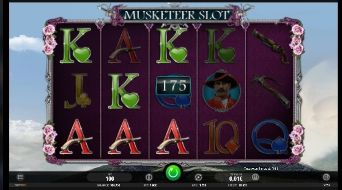 Win Money in Musketeer Slot Free Slot Game by iSoftBet