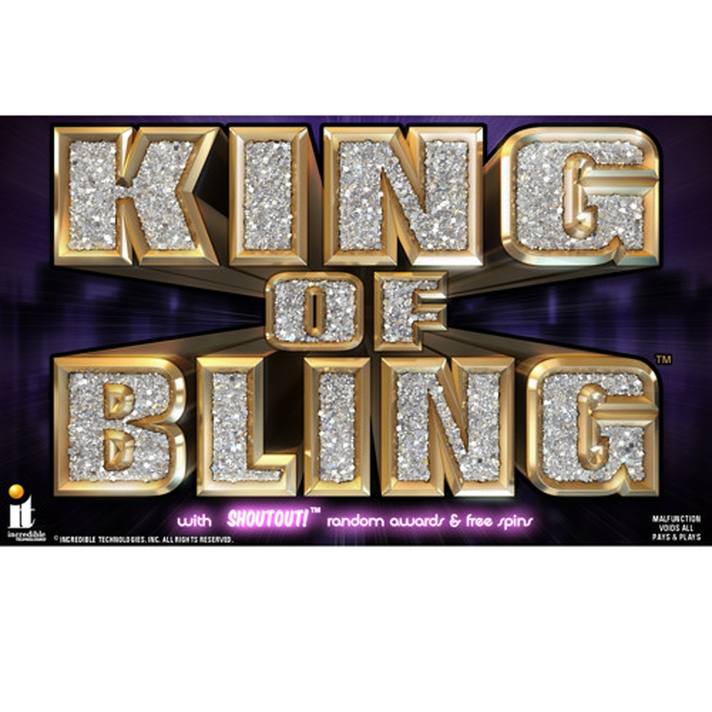 The King of Bling Online Slot Demo Game by Incredible Technologies