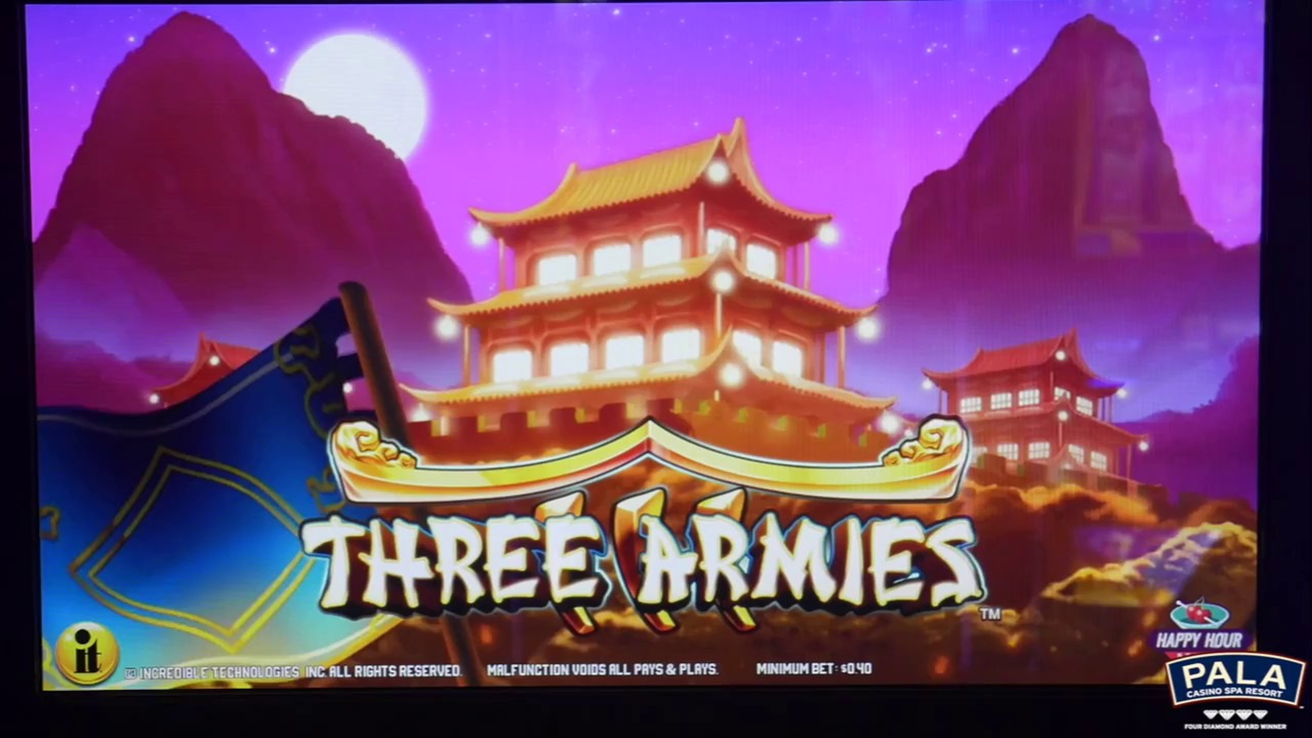 The Three Armies Online Slot Demo Game by Incredible Technologies