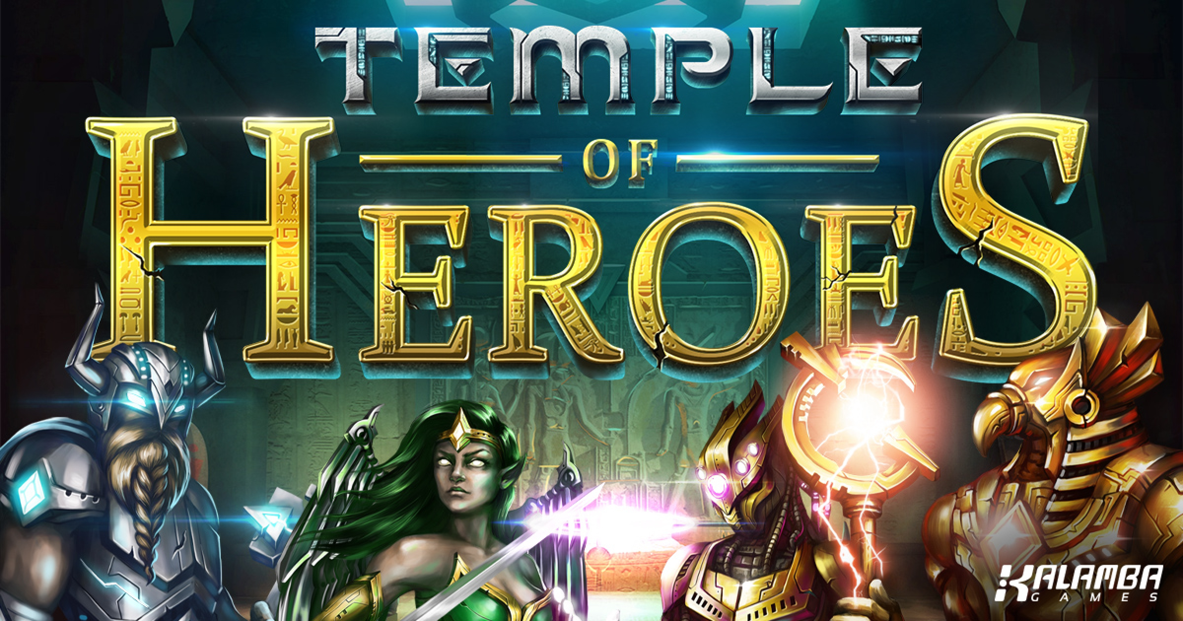 The Temple of Heroes Online Slot Demo Game by Kalamba Games