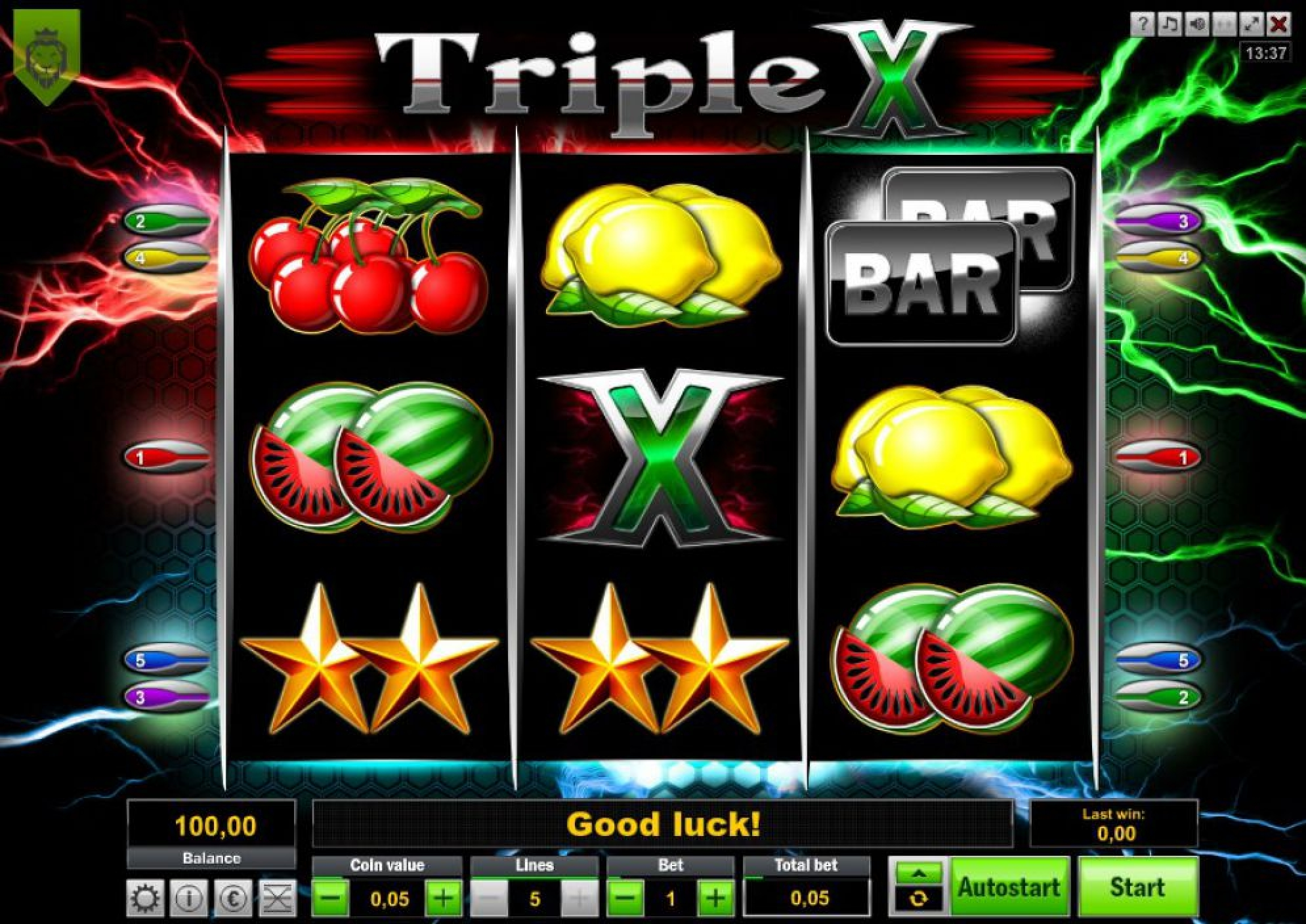 The Triple X Online Slot Demo Game by Lionline