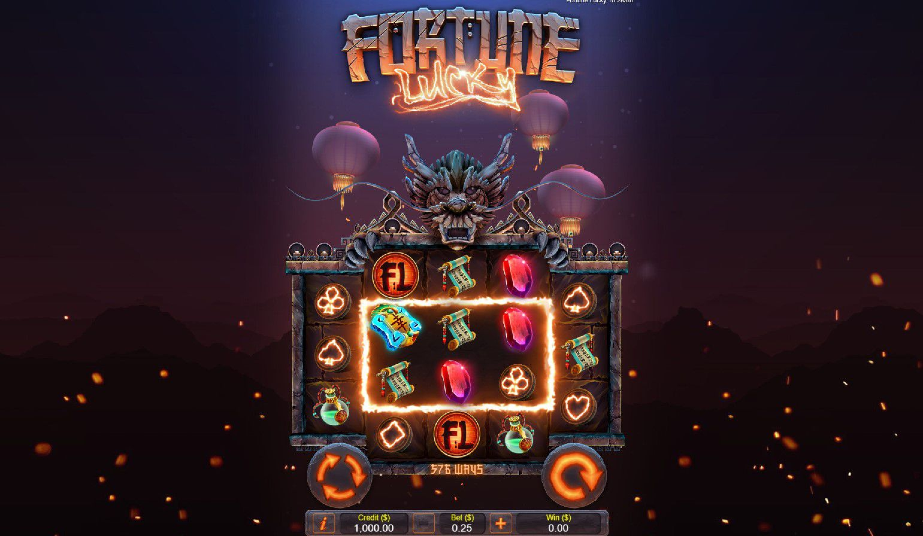 The Fortune Lucky Online Slot Demo Game by Live 5