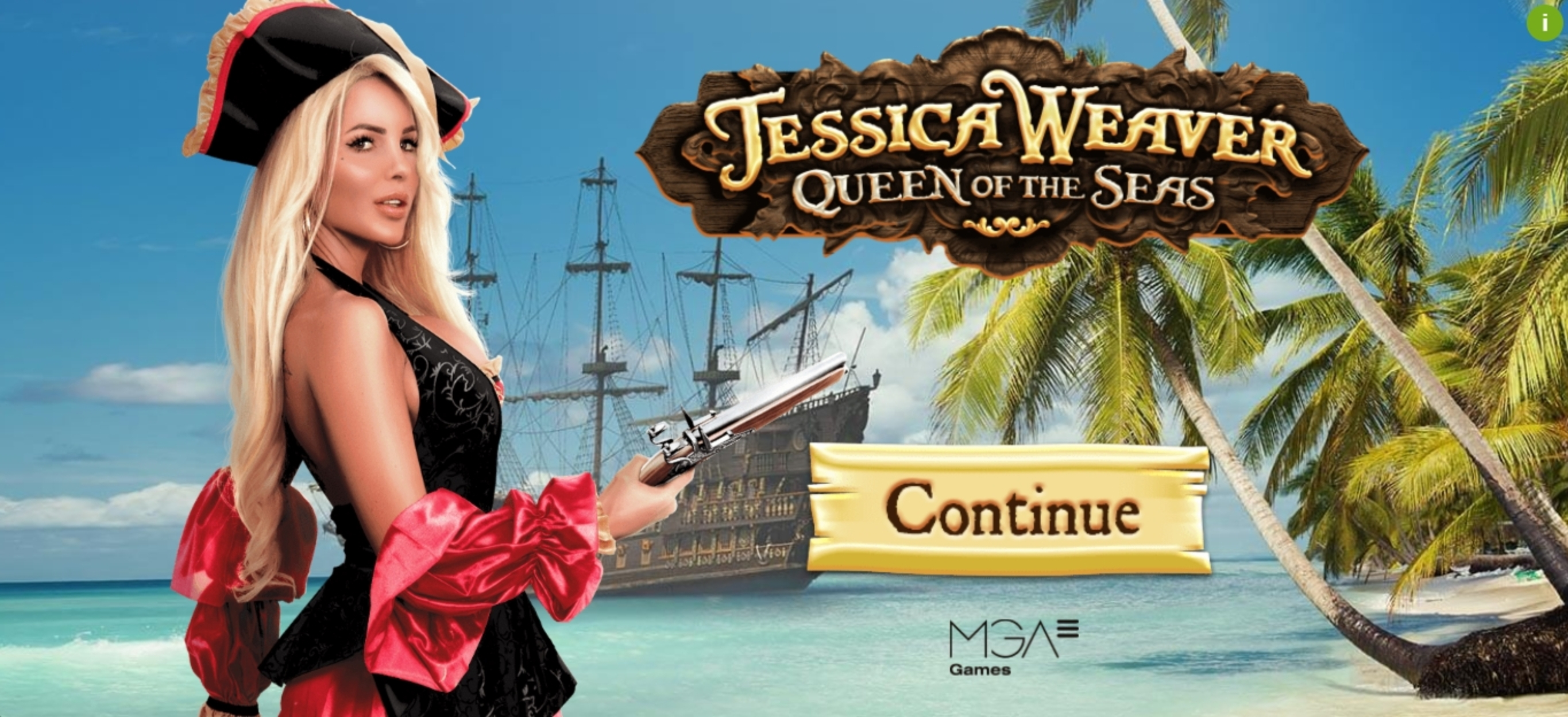 Play Jessica Weaver Queen of the Seas Free Casino Slot Game by MGA