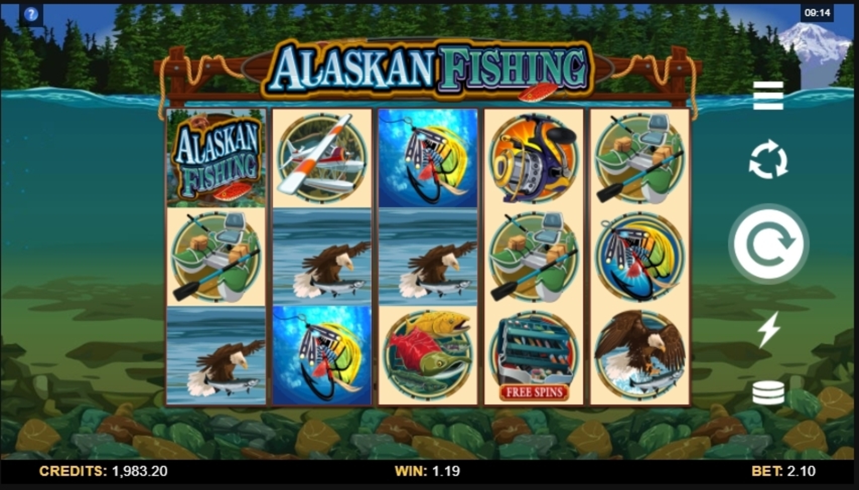 Win Money in Alaskan Fishing Free Slot Game by Microgaming