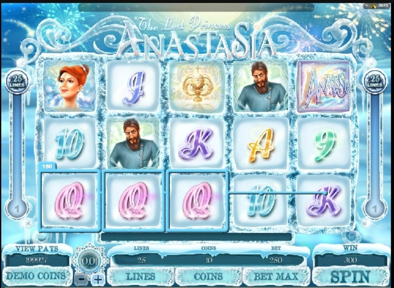 Win Money in The Lost Princess Anastasia Free Slot Game by Microgaming