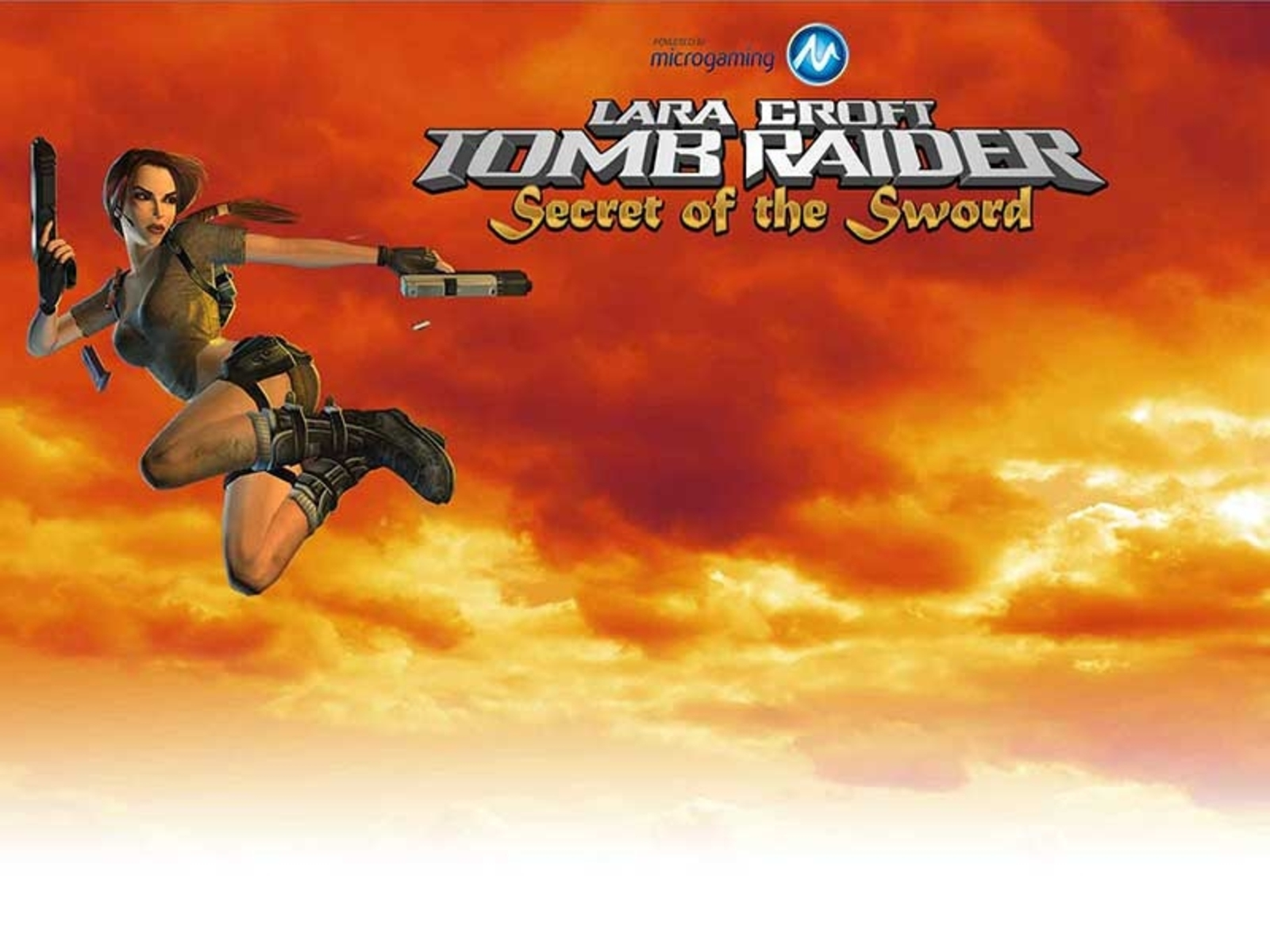 The Tomb Raider Secret of the Sword Online Slot Demo Game by Microgaming
