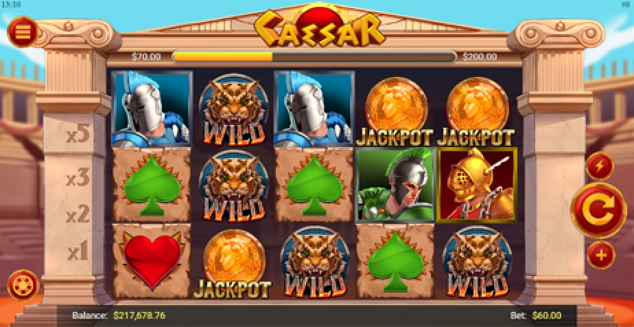 The Caesar (Mobilots) Online Slot Demo Game by Mobilots