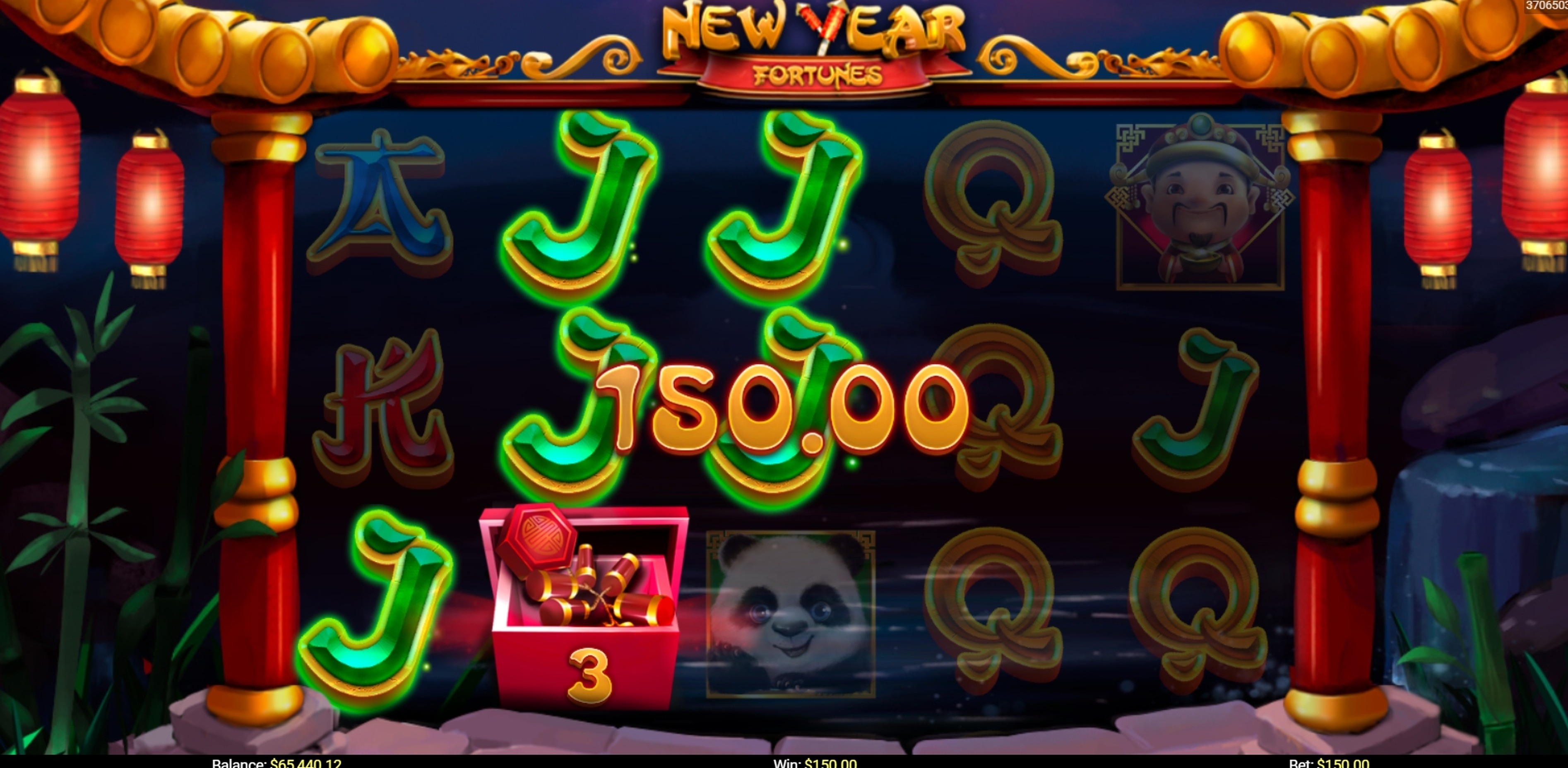 Win Money in New Year Fortunes Free Slot Game by Mobilots