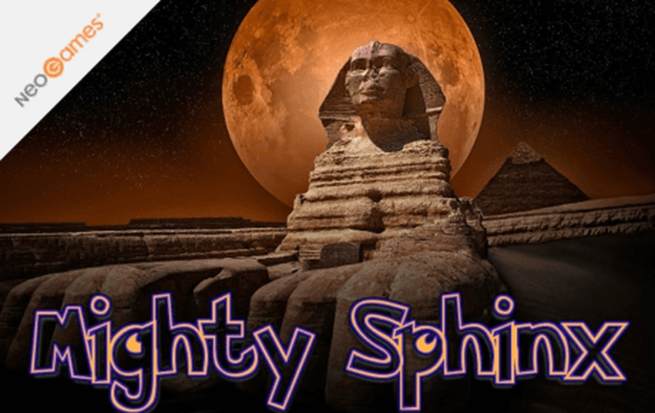 The Mighty Sphinx Online Slot Demo Game by NeoGames