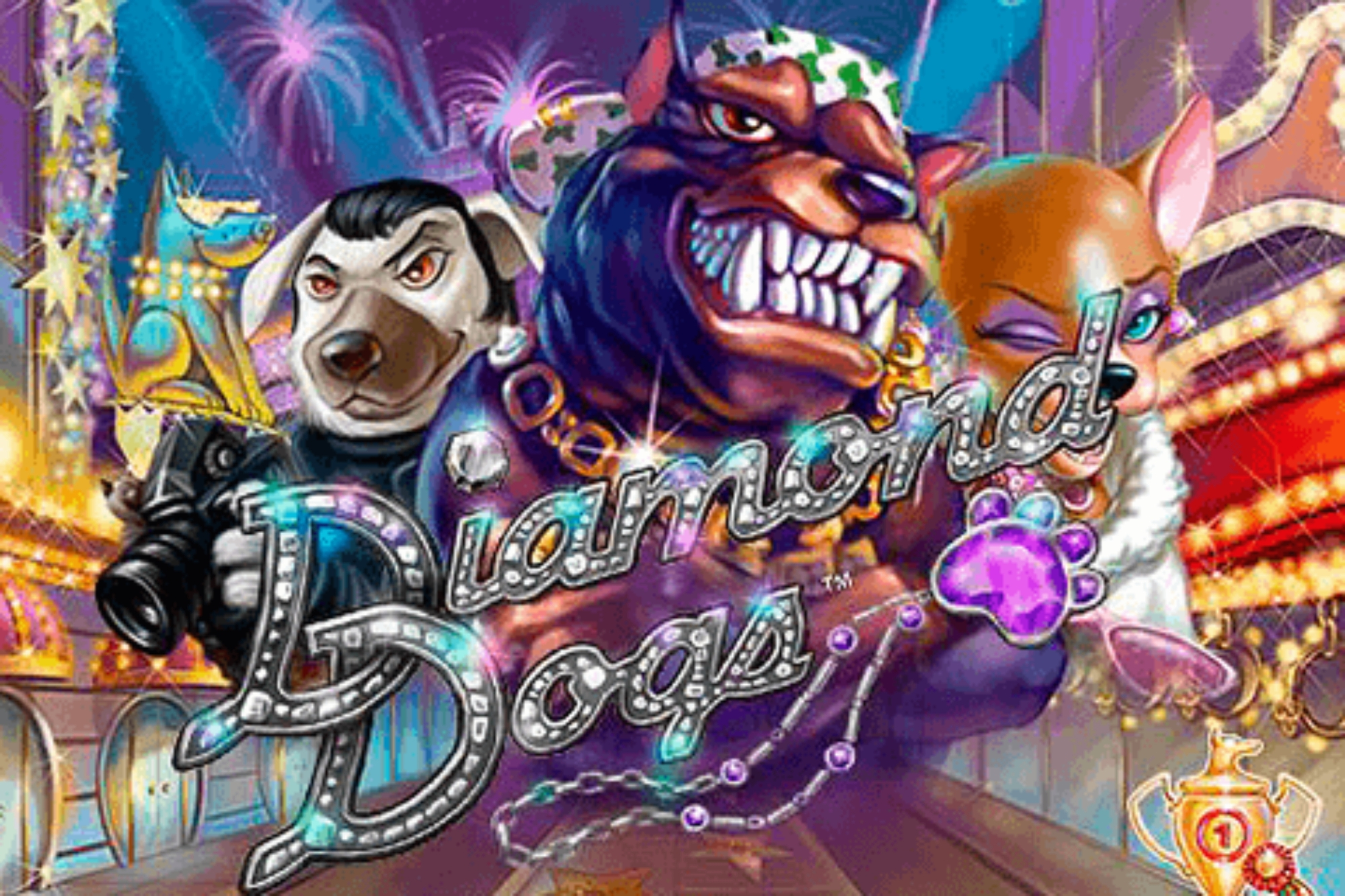 The Diamond Dogs Online Slot Demo Game by NetEnt