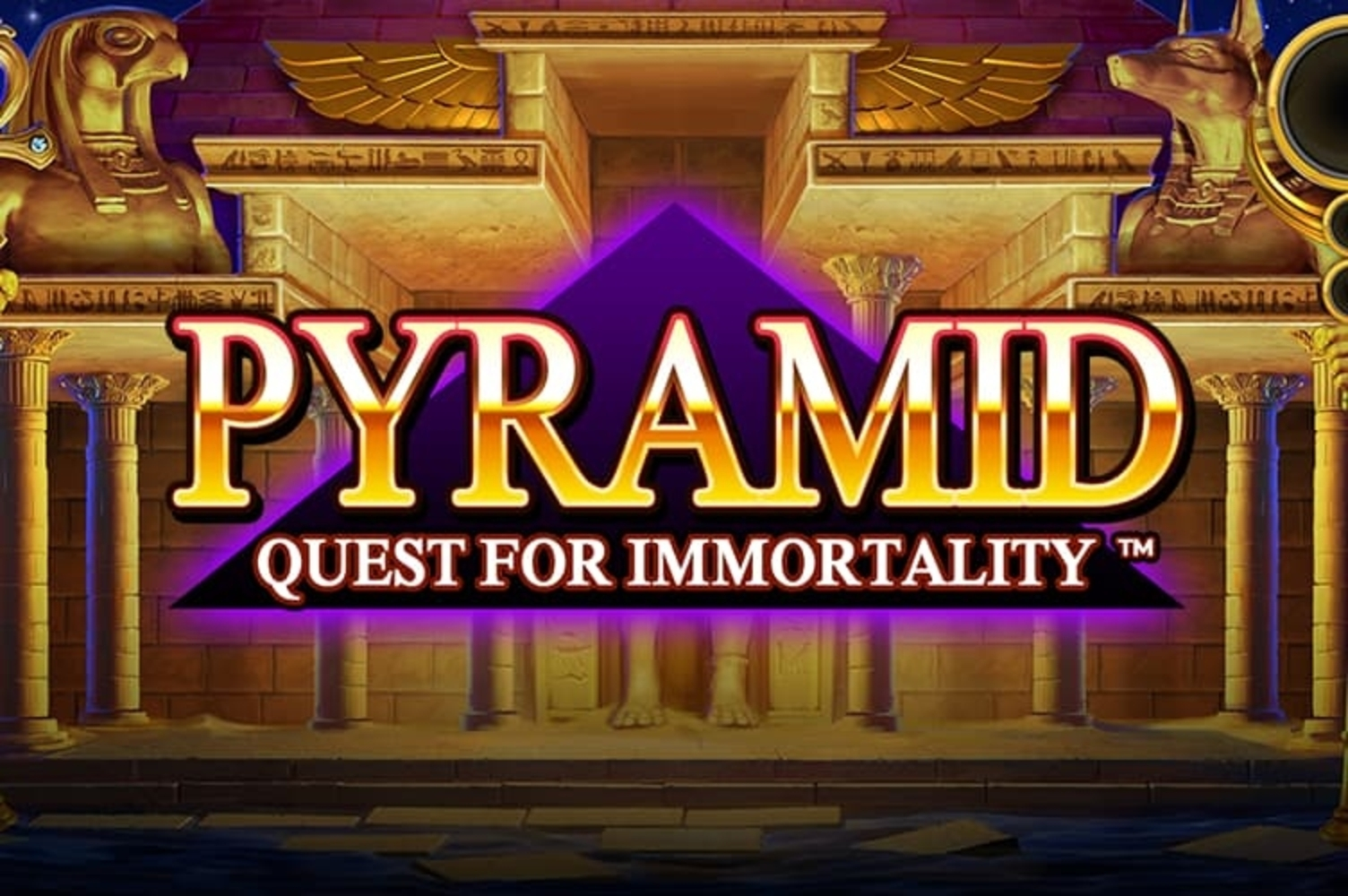 The Pyramid: Quest for Immortality Online Slot Demo Game by NetEnt