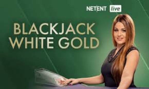 The White Gold Blackjack Online Slot Demo Game by NetEnt