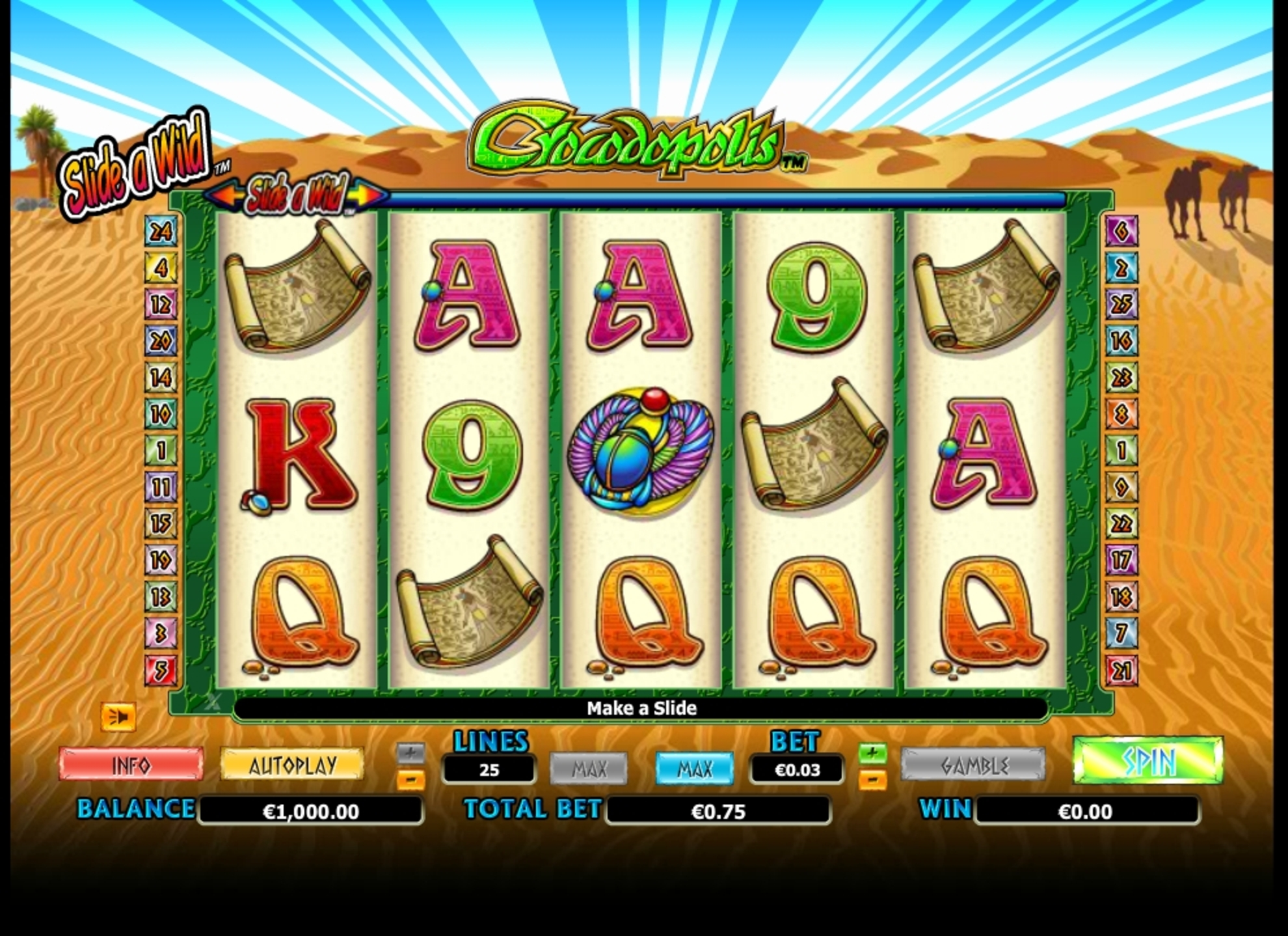 Reels in Crocodopolis Slot Game by NextGen