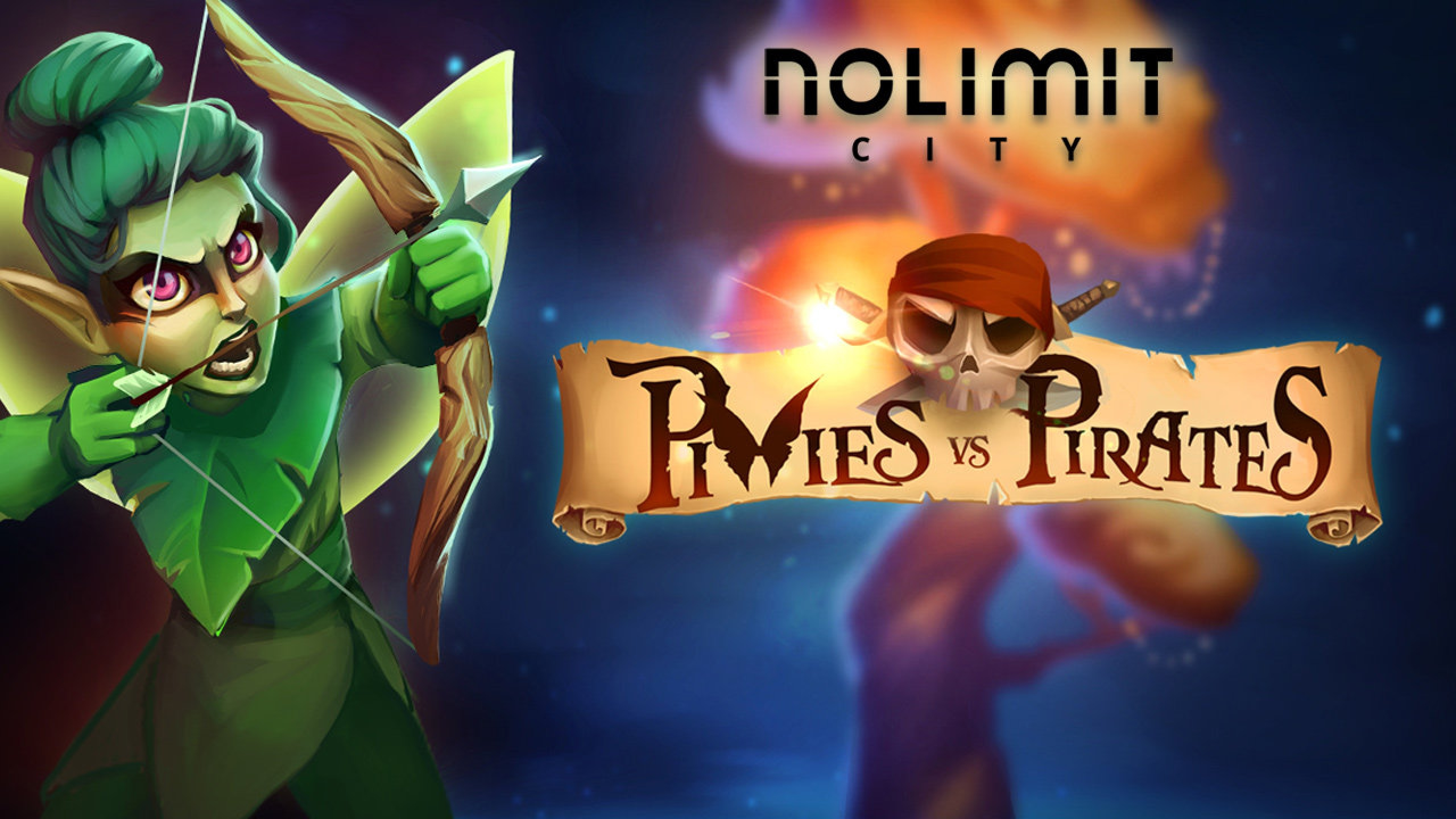 The Pixies Vs Pirates Online Slot Demo Game by Nolimit City