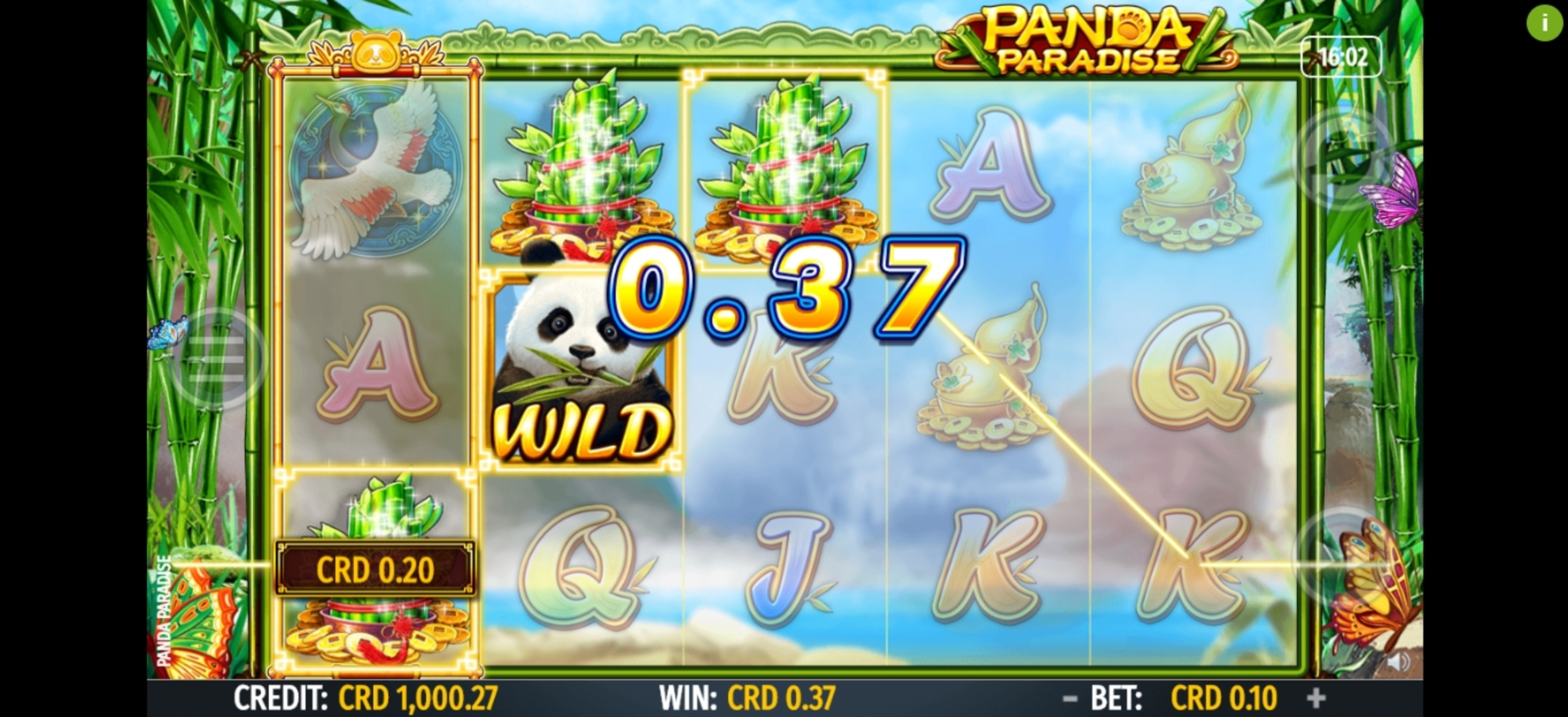 Win Money in Panda Paradise Free Slot Game by Octavian Gaming