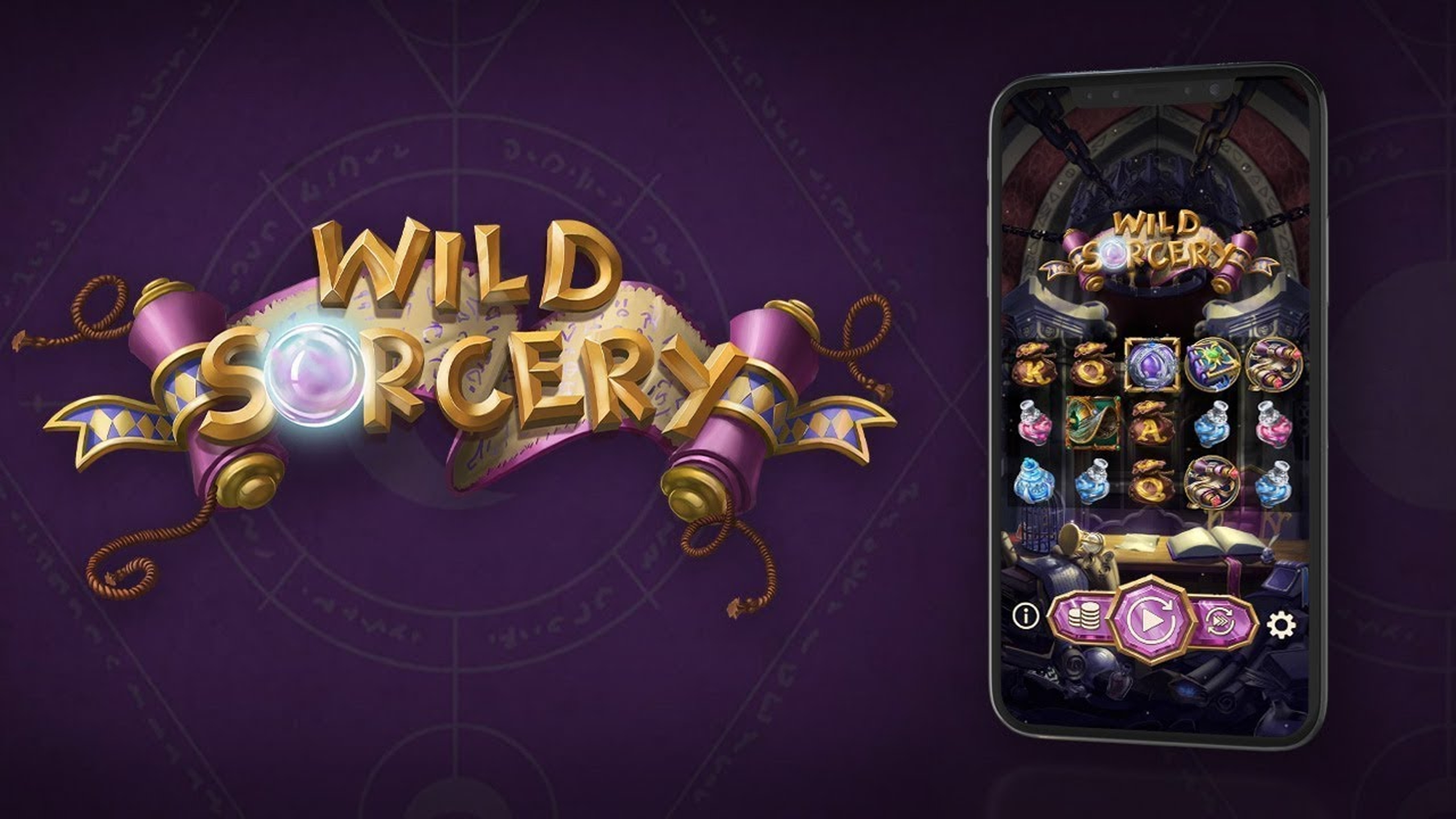 The Wild Sorcery Online Slot Demo Game by OneTouch