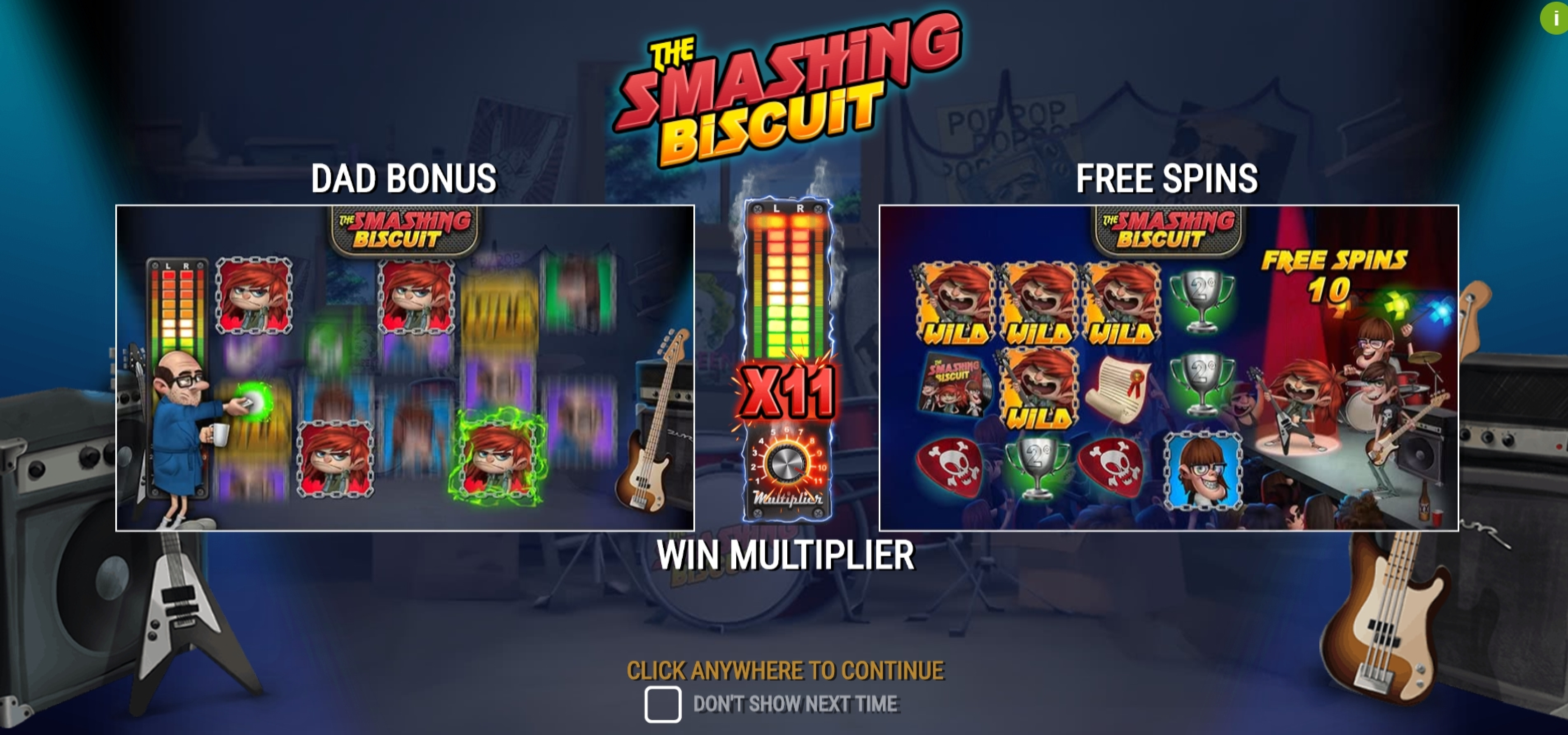 Play The Smashing Biscuit Free Casino Slot Game by PearFiction Studios