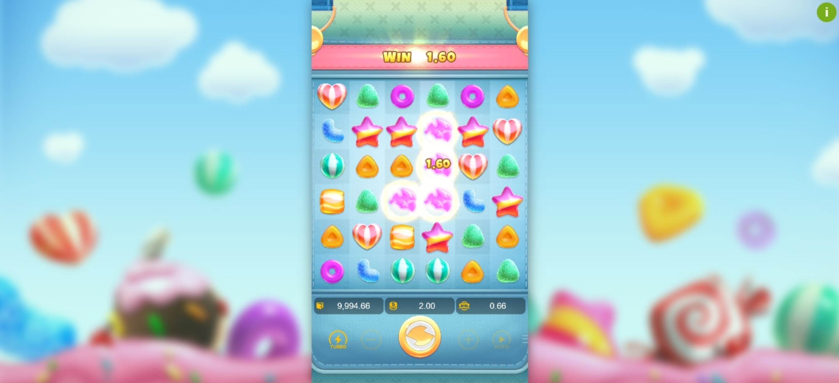 Win Money in Candy Burst (PG Soft) Free Slot Game by PG Soft