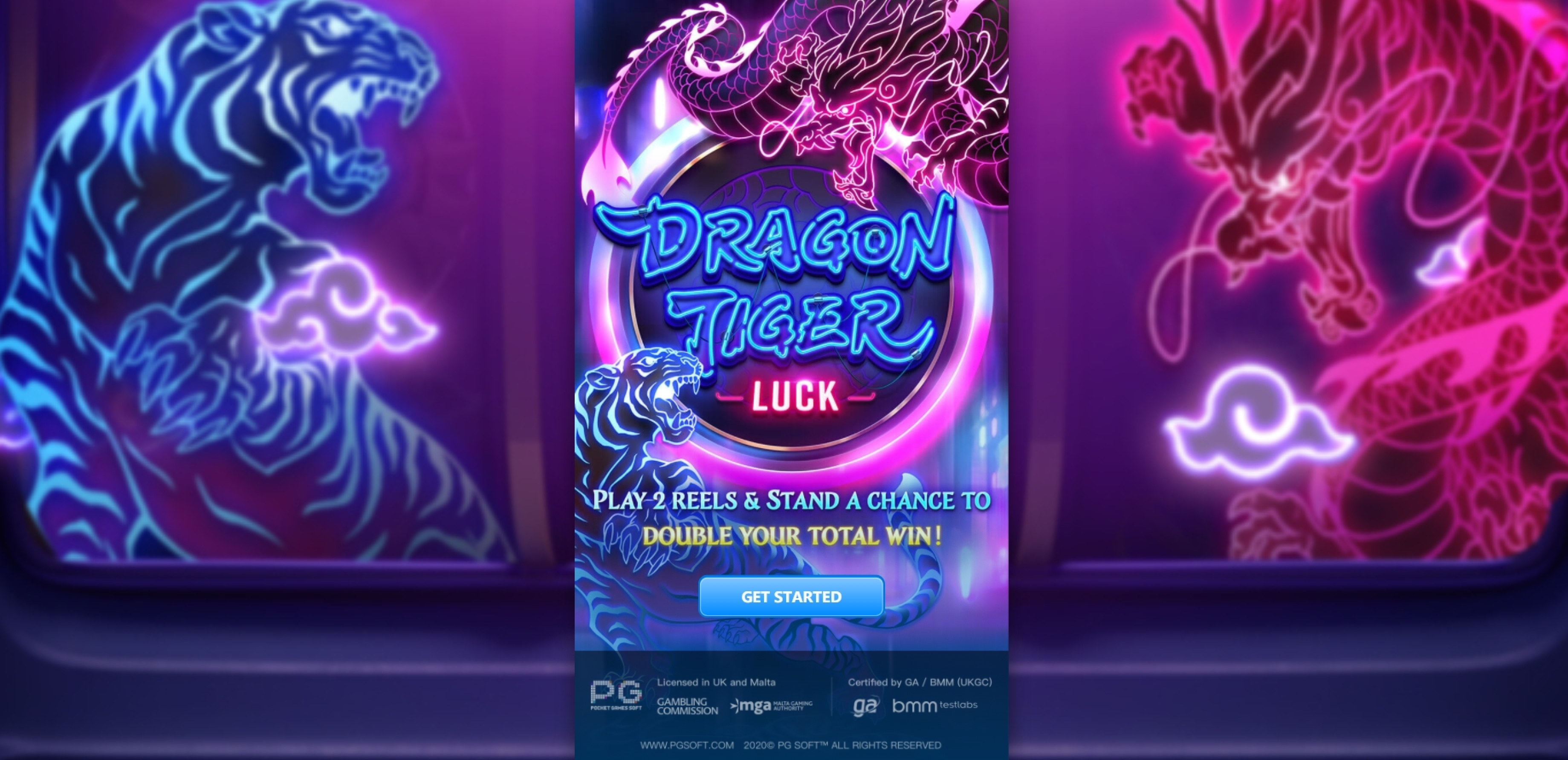 Play Dragon Tiger Luck Free Casino Slot Game by PG Soft