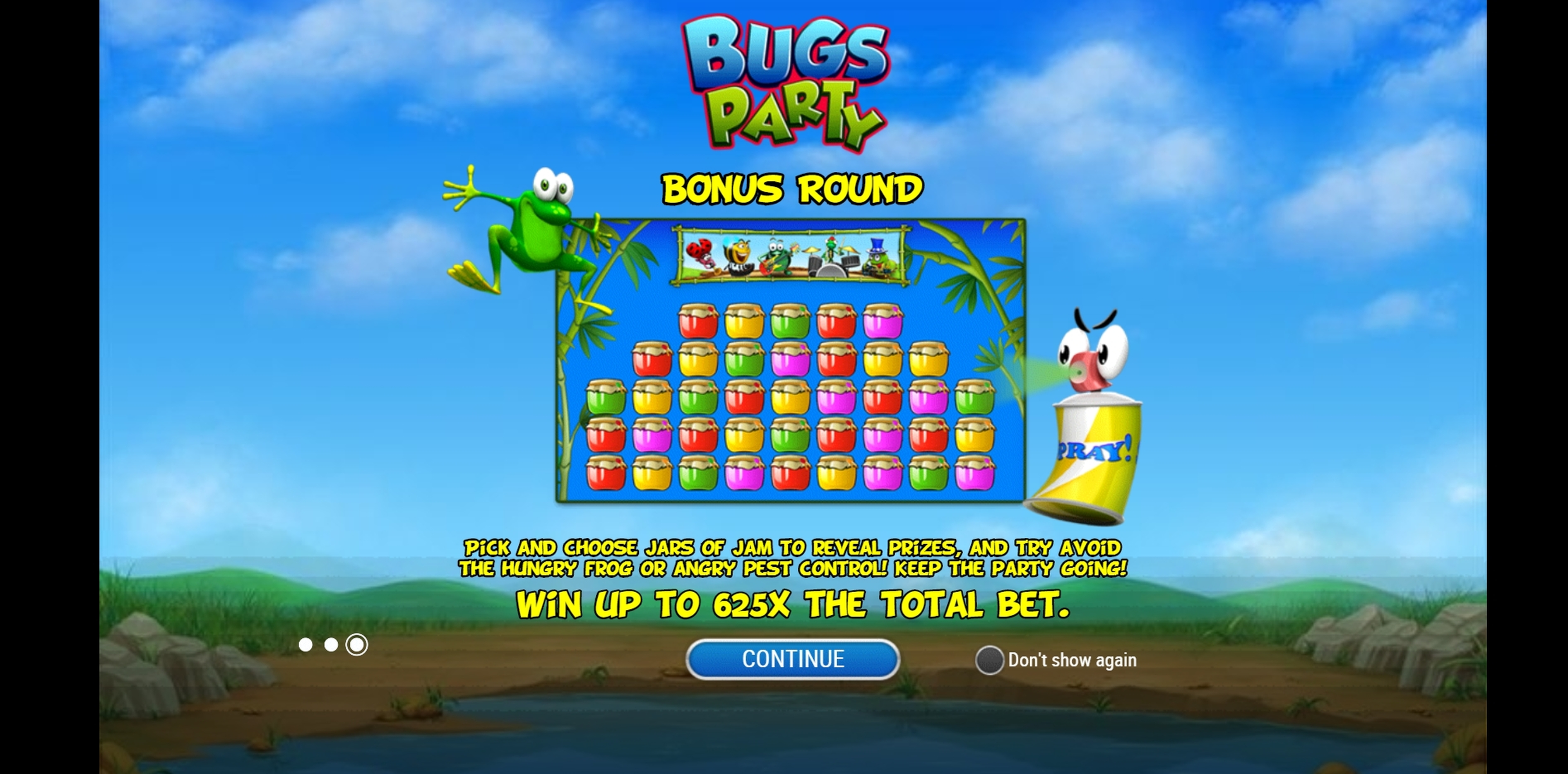 Play Bugs Party Free Casino Slot Game by Playn GO