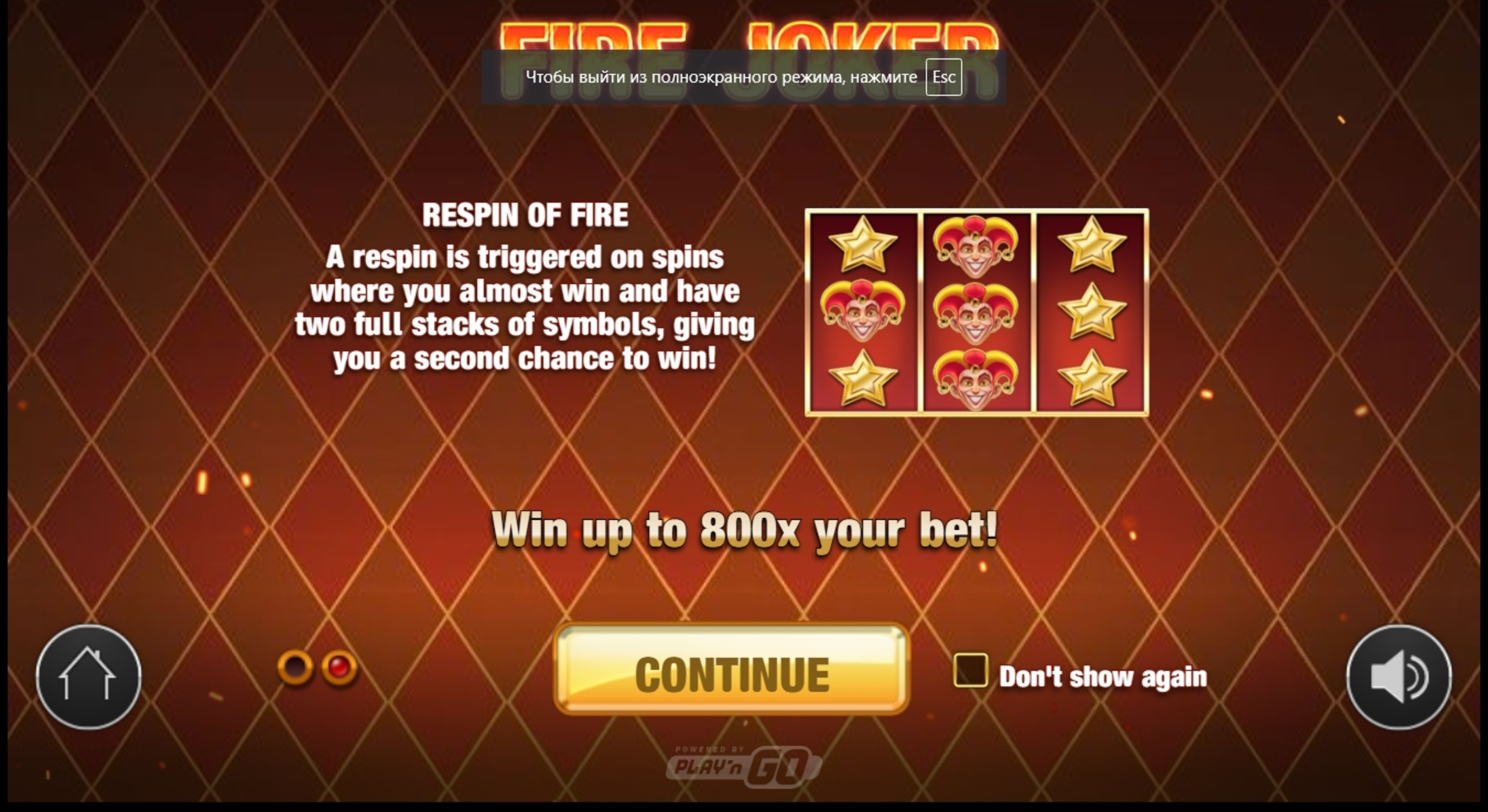 Play Fire Joker Free Casino Slot Game by Playn GO
