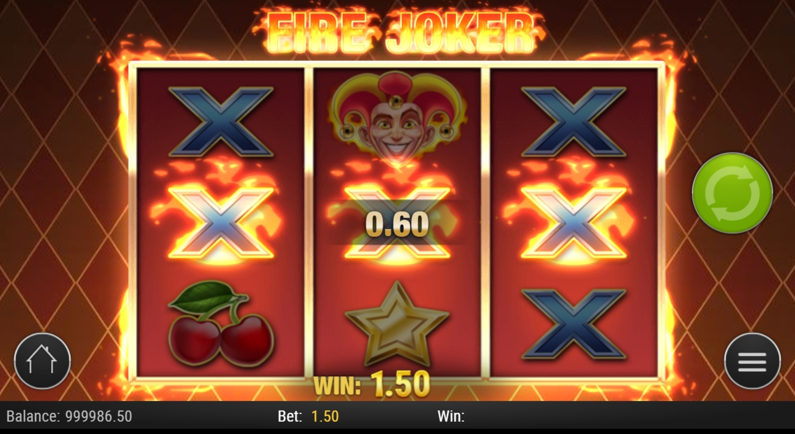 Win Money in Fire Joker Free Slot Game by Playn GO