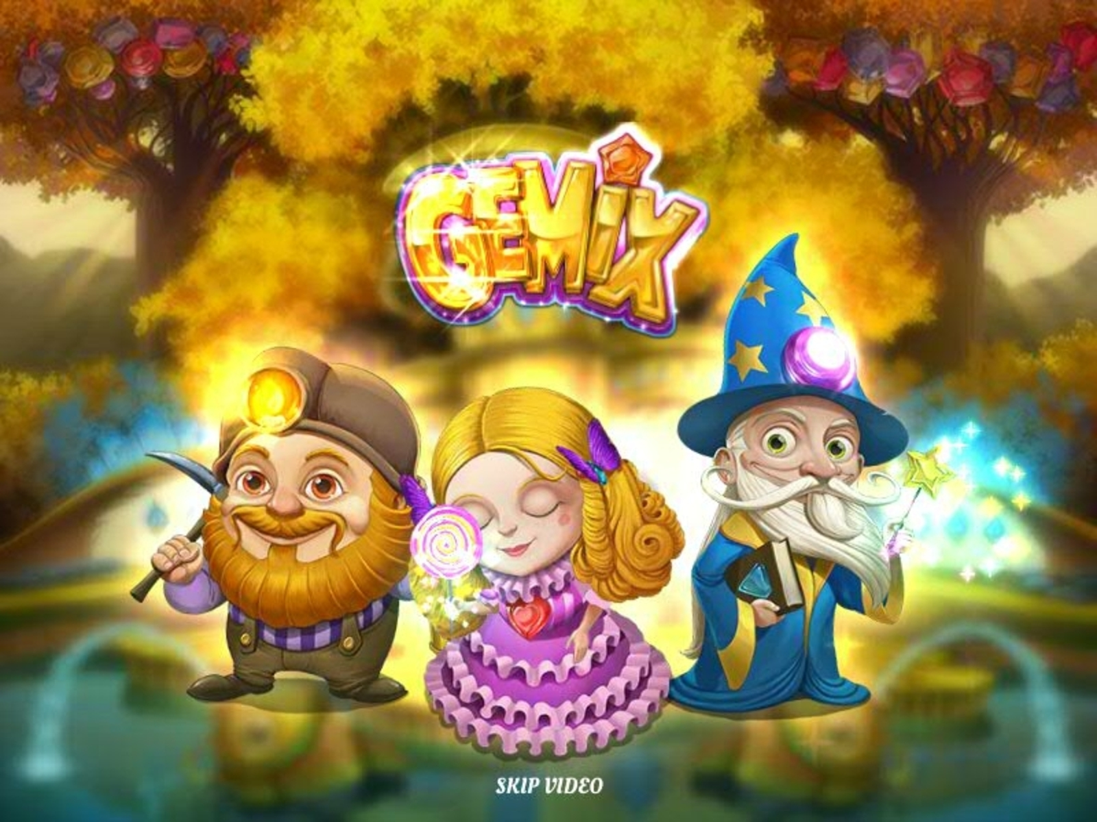 The Gemix Online Slot Demo Game by Play'n Go