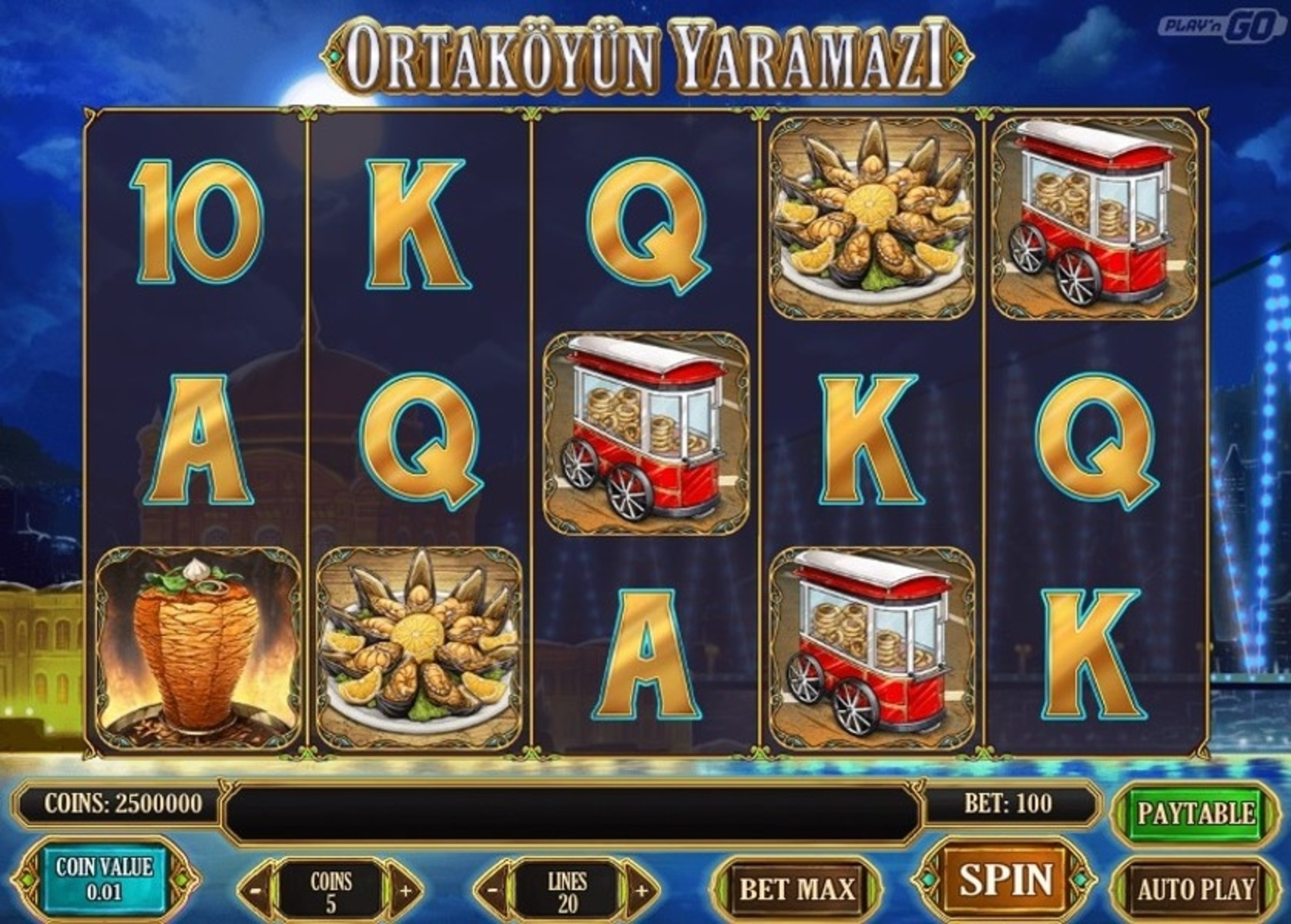 The Ortaköyün Yaramazi Online Slot Demo Game by Play'n Go