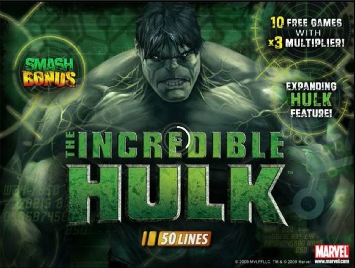 The The Incredible Hulk Online Slot Demo Game by Playtech