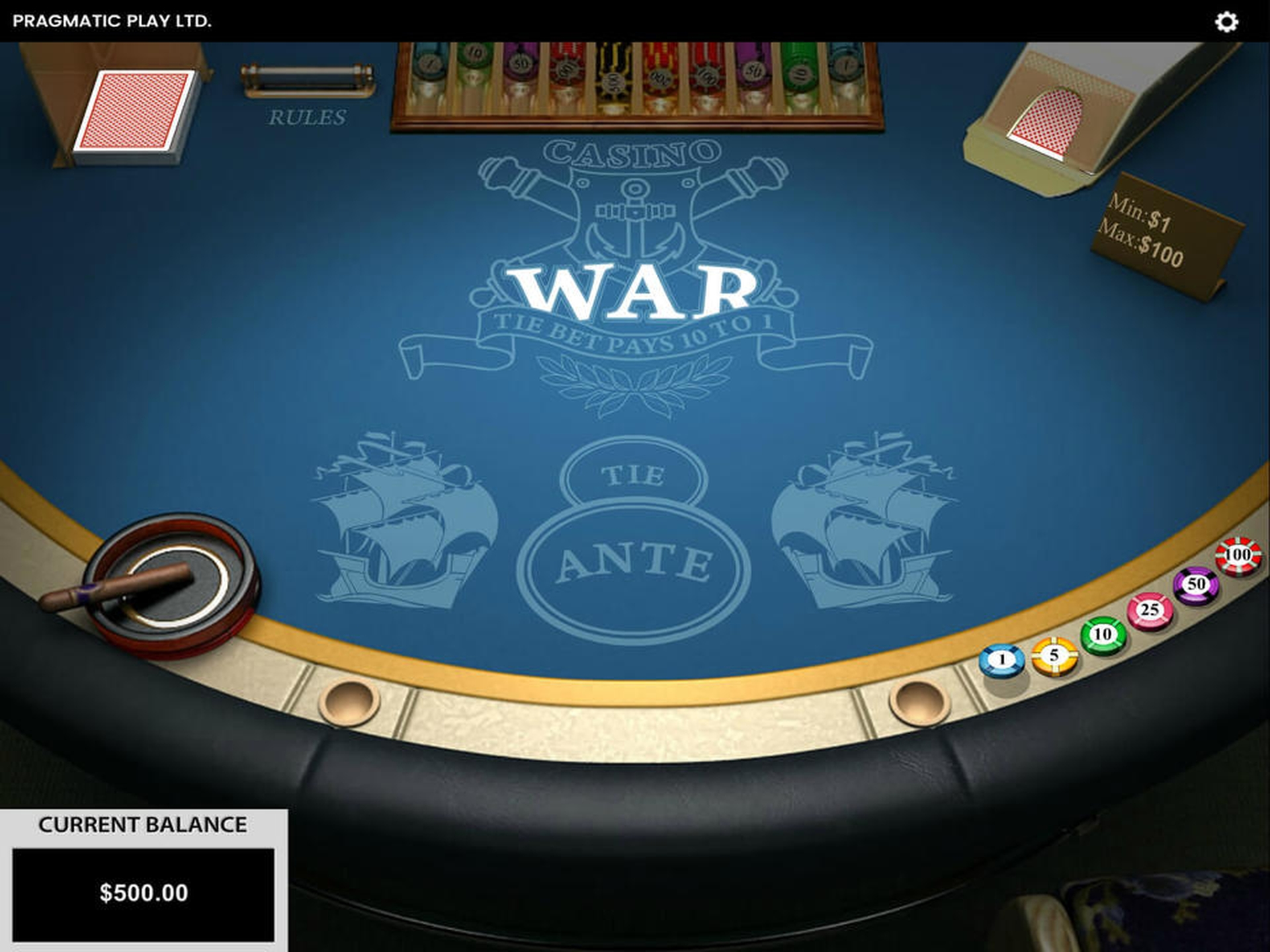 The Casino War Online Slot Demo Game by Pragmatic Play