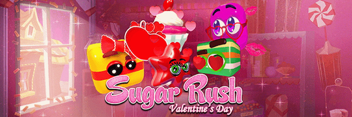 The Sugar Rush Valentine's Day Online Slot Demo Game by Pragmatic Play