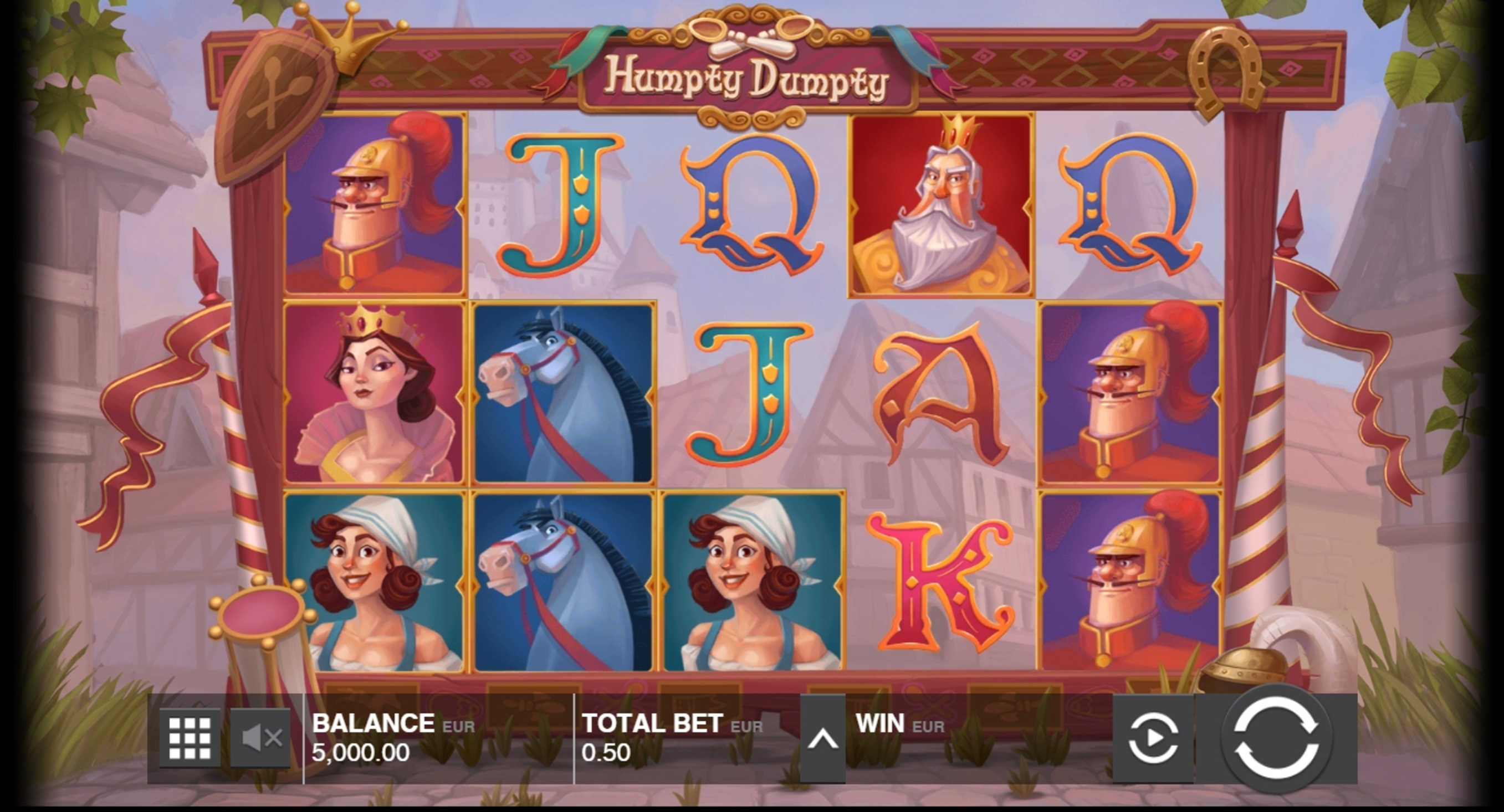 Reels in Humpty Dumpty (Push Gaming) Slot Game by Push Gaming