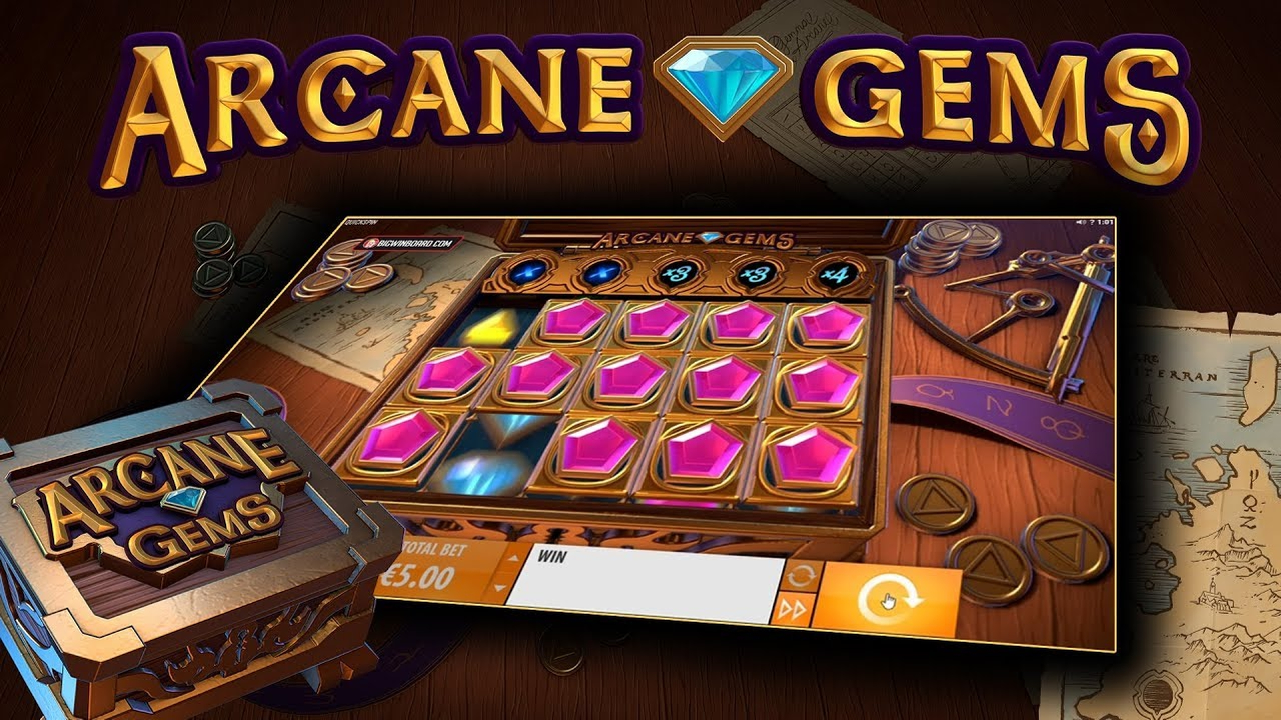 The Arcane Gems Online Slot Demo Game by Quickspin