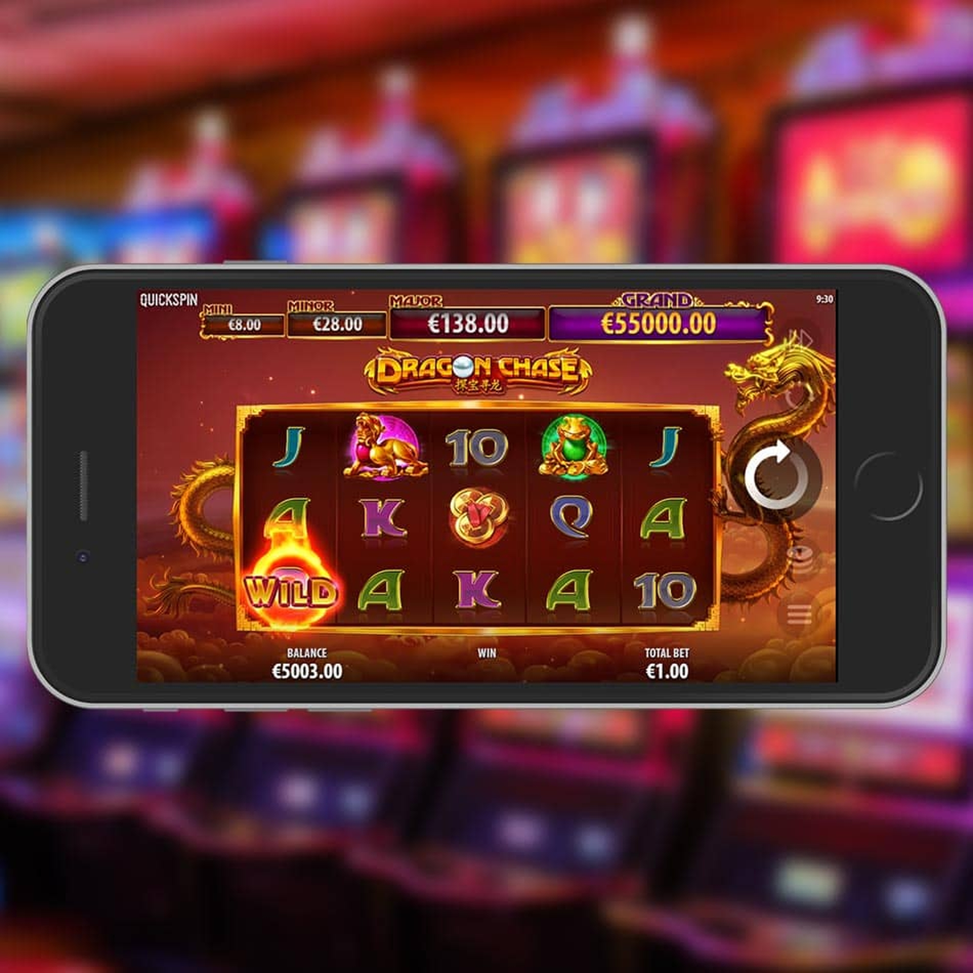 The Dragon Chase Rapid Online Slot Demo Game by Quickspin